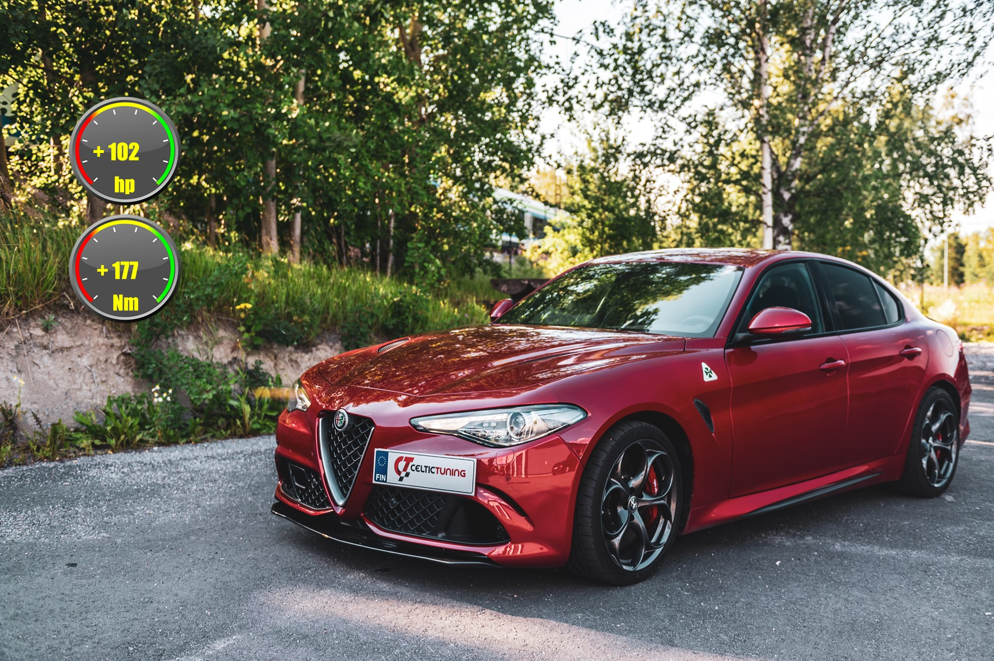 Alfa Romeo Giulia viritys celtic tun