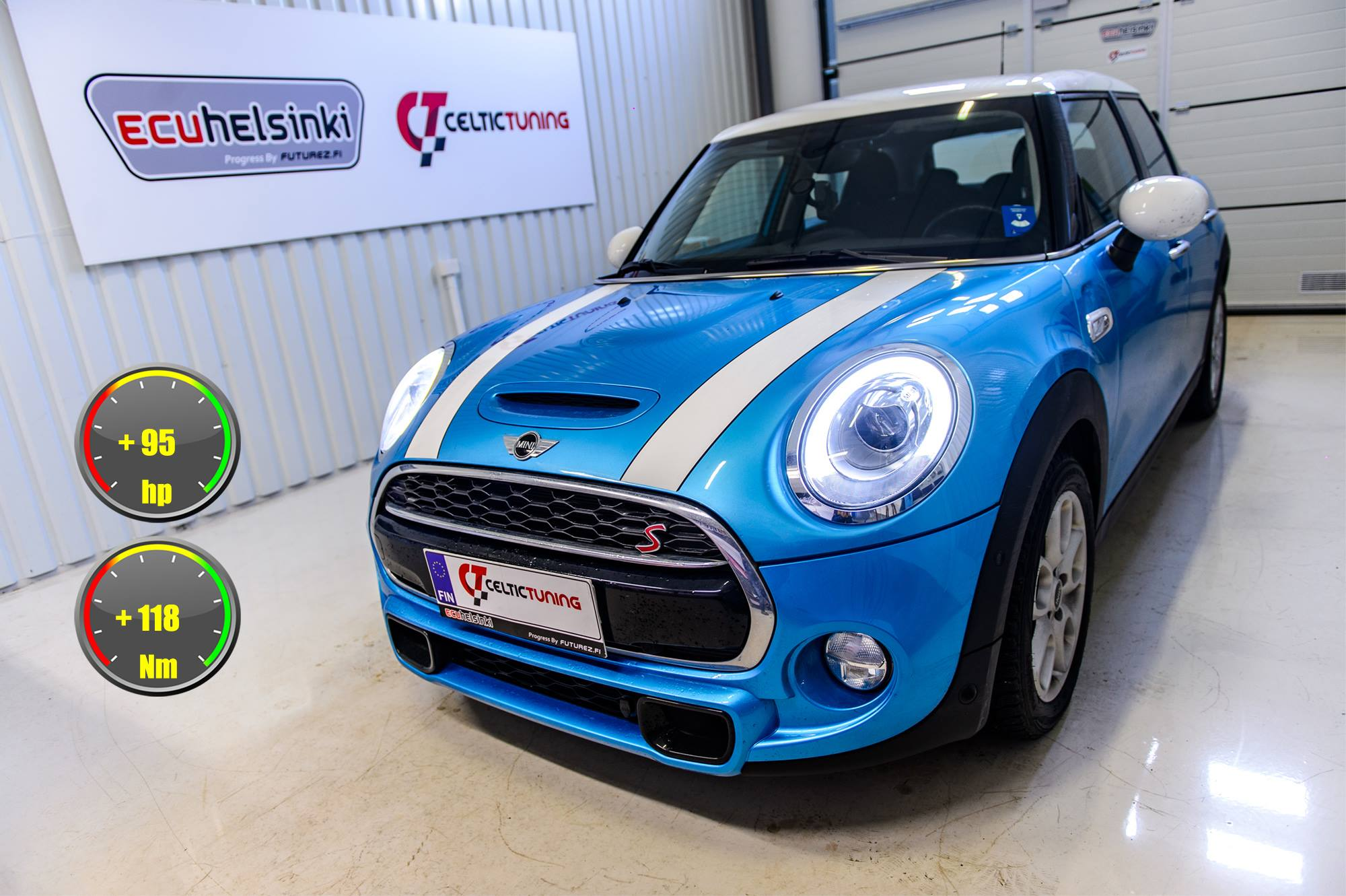 Mini Cooper S lastutus celtic tuning