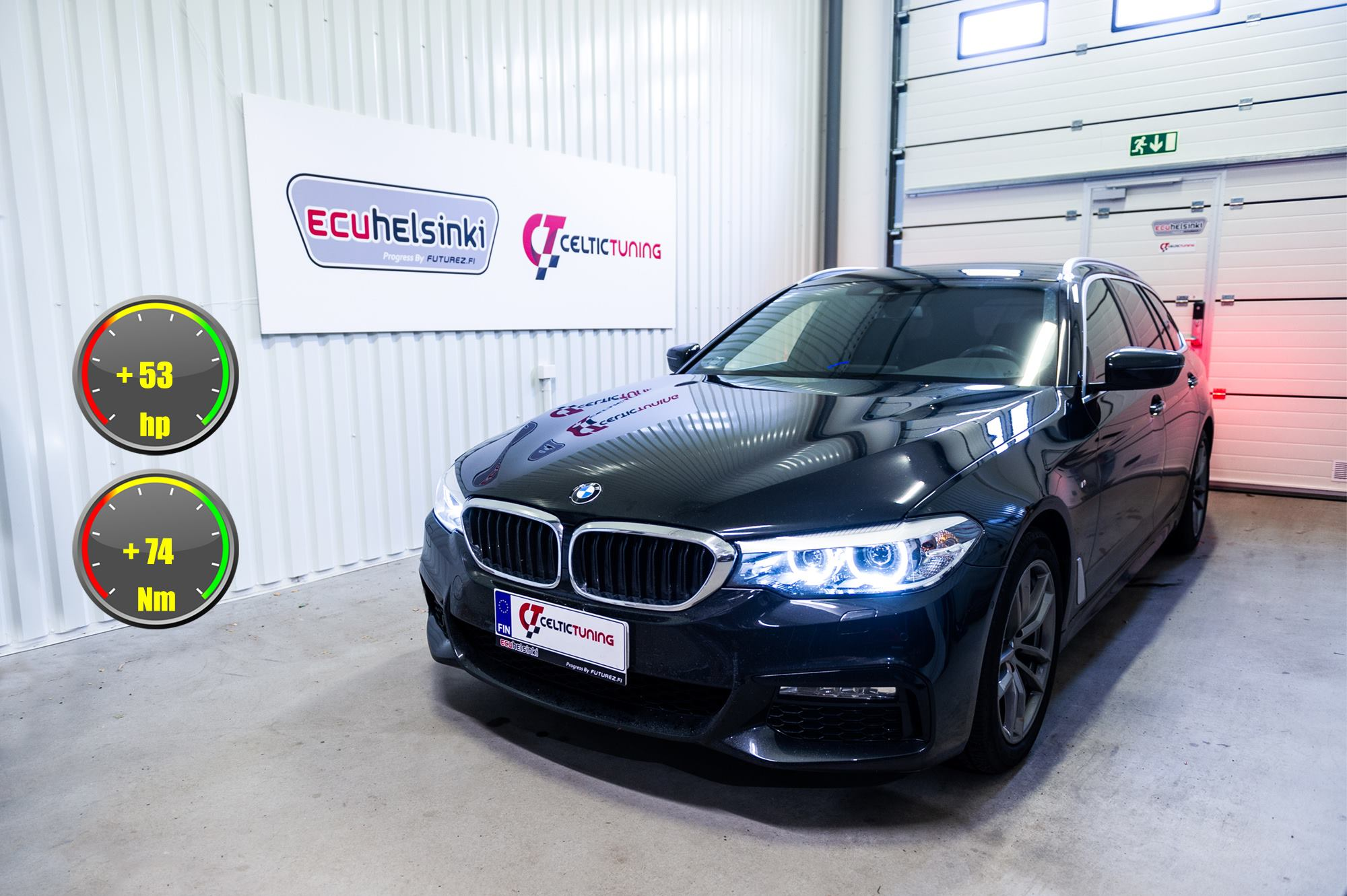 BMW 520D G31 Celtic Tuning Lastutus