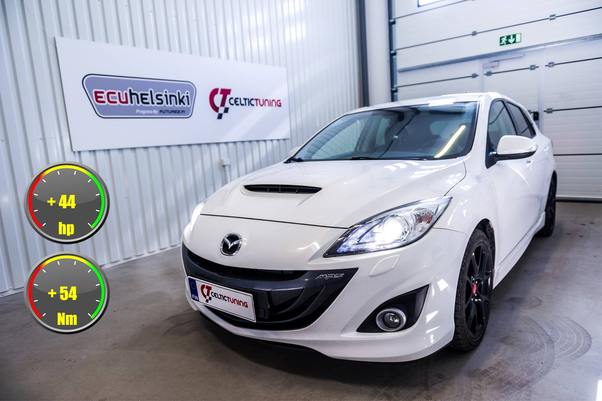 Mazda 3 MPS lastutus celtic tuning