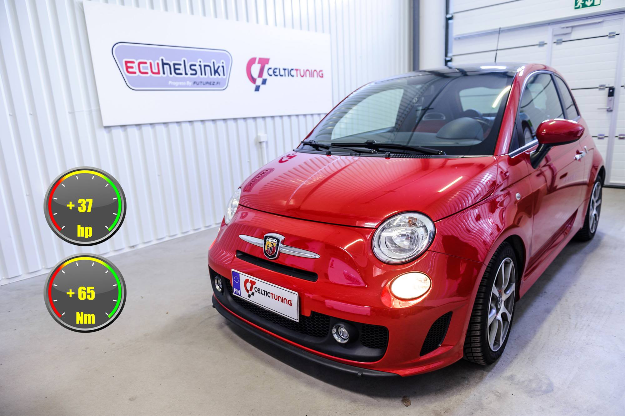 Abarth 500 lastutus celtic tuning