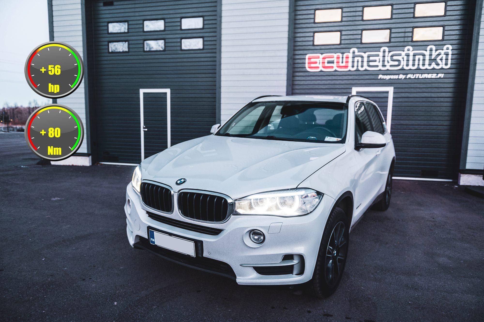 BMW X5 30D ohjelmointi celtic tuning