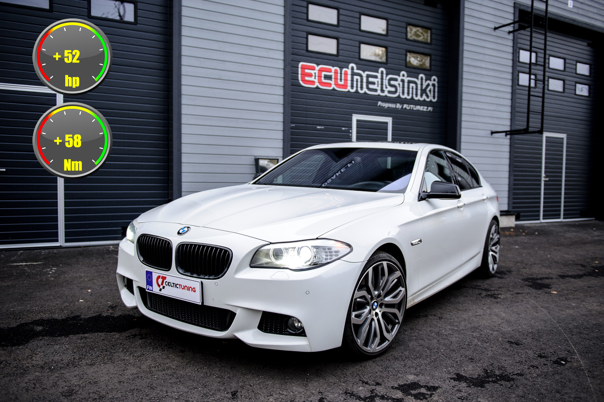 BMW 525D optimointi celtic tuning