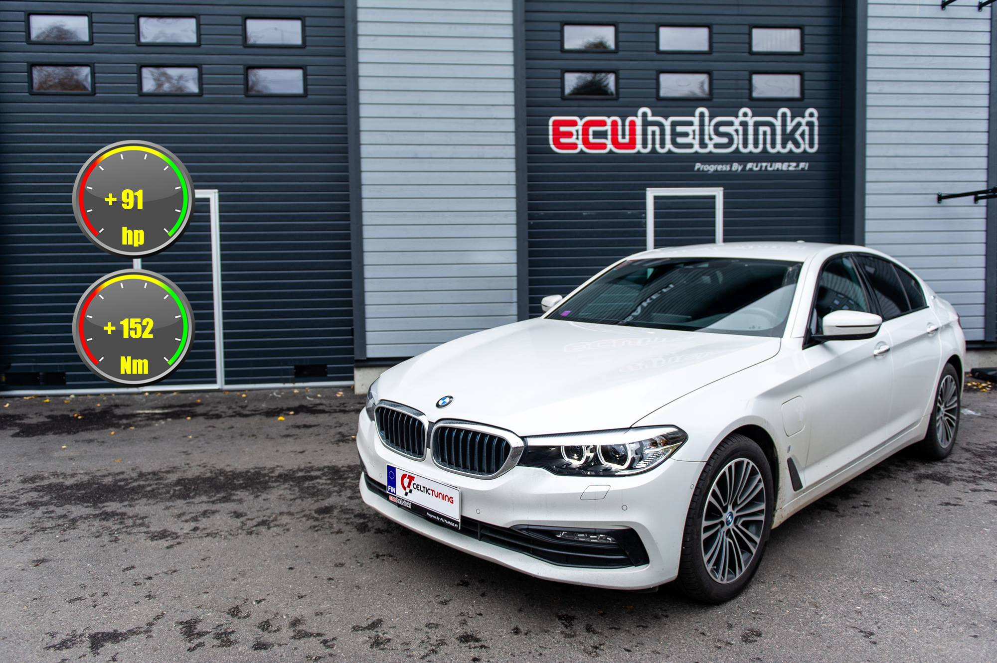 BMW 530e celtic tuning lastutus