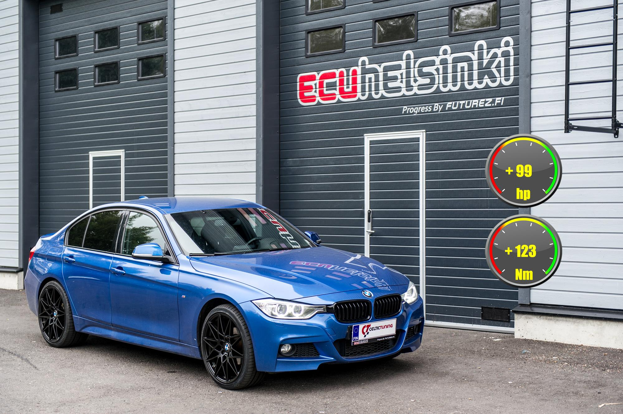 BMW 320i Celtic Tuning Lastutus