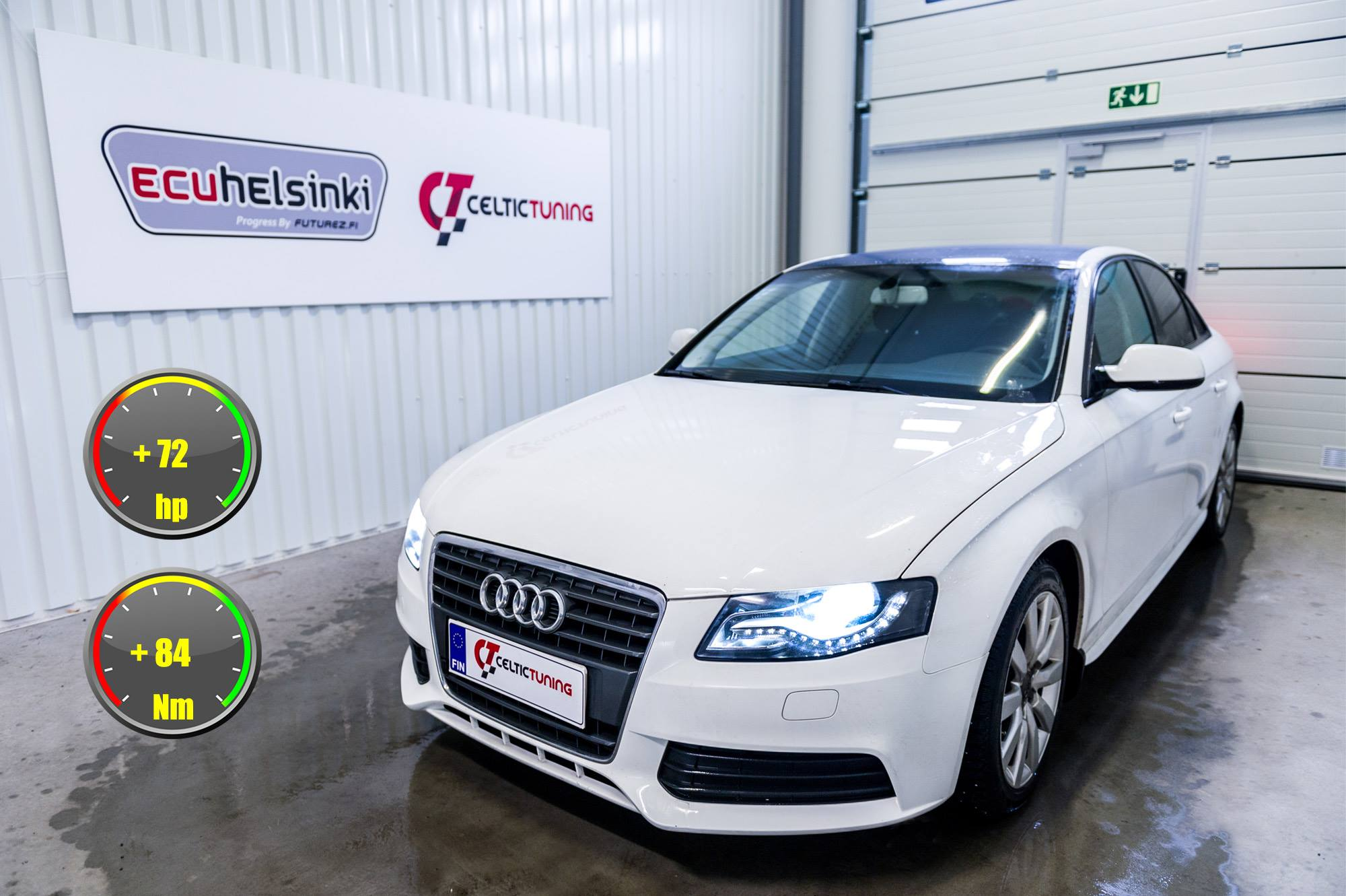 Audi A4 B8 optimointi celtic tuning