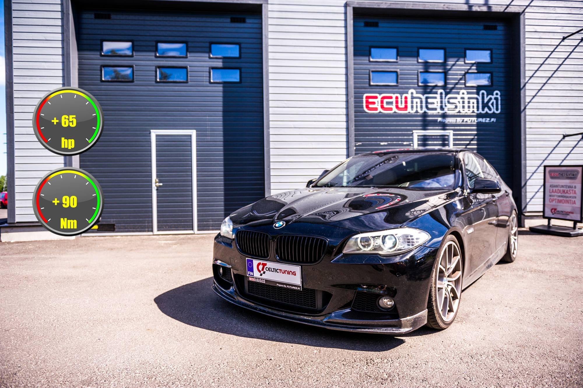 BMW 535D celtic tuning lastutus