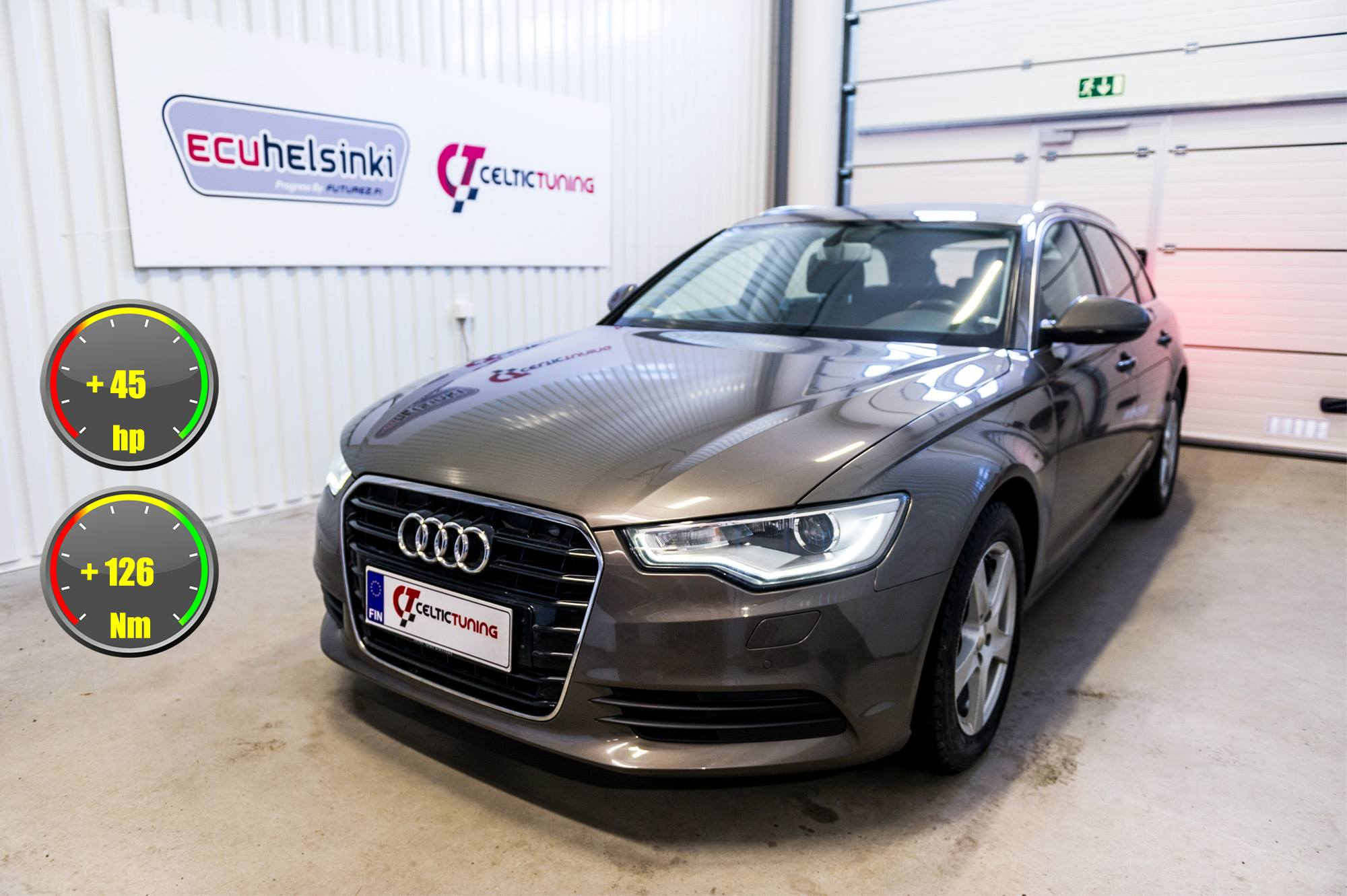 Audi A6 2.0 TDI Ultra optimointi
