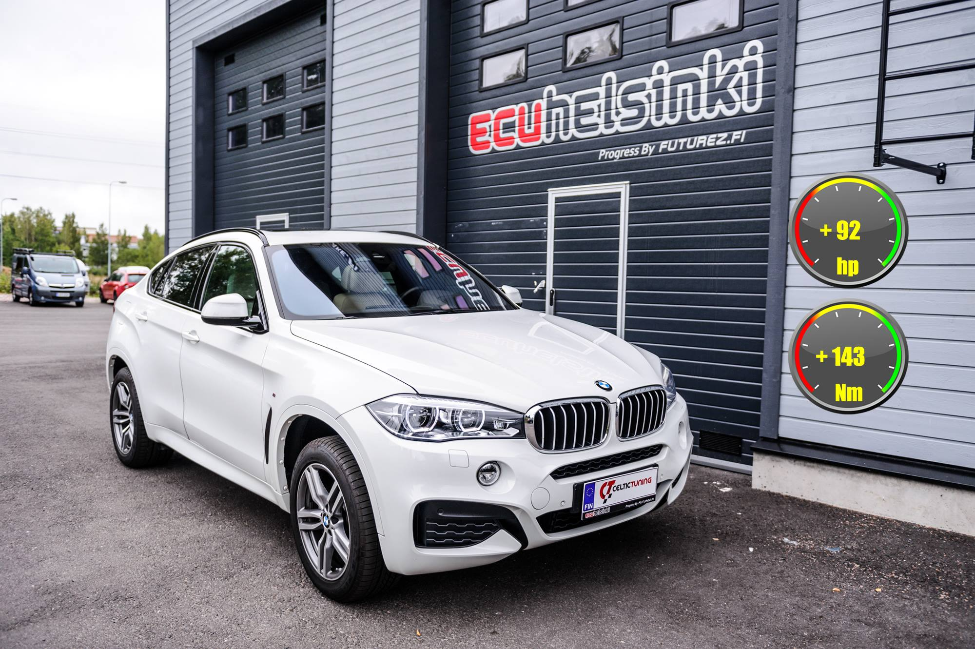 BMW X6 celtic tuning lastutus