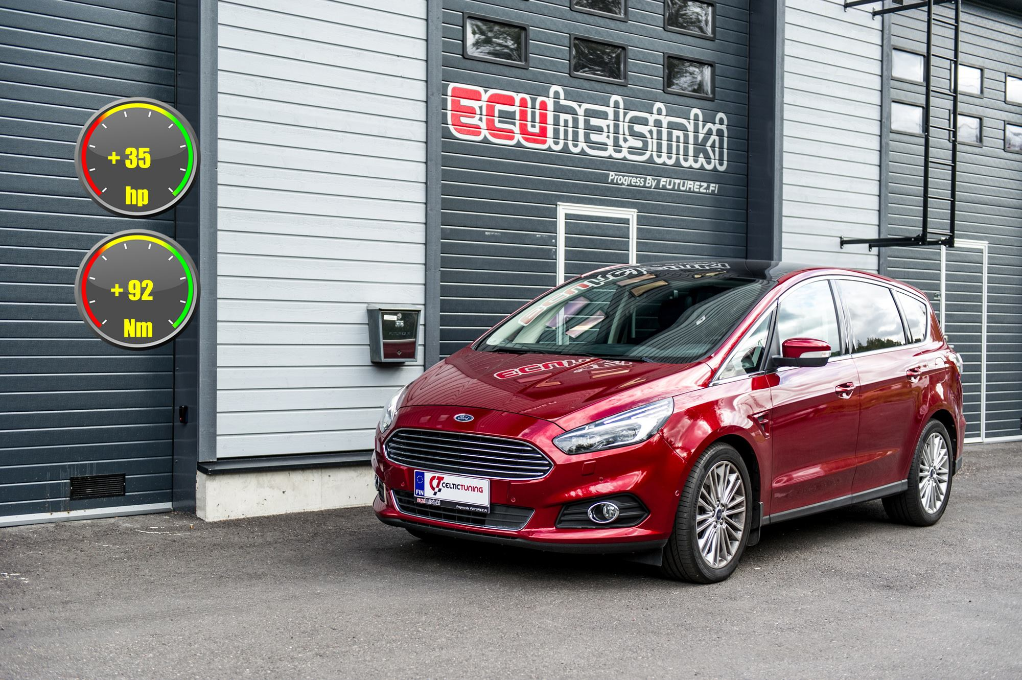 Ford S-max Celtic Tuning Lastutus
