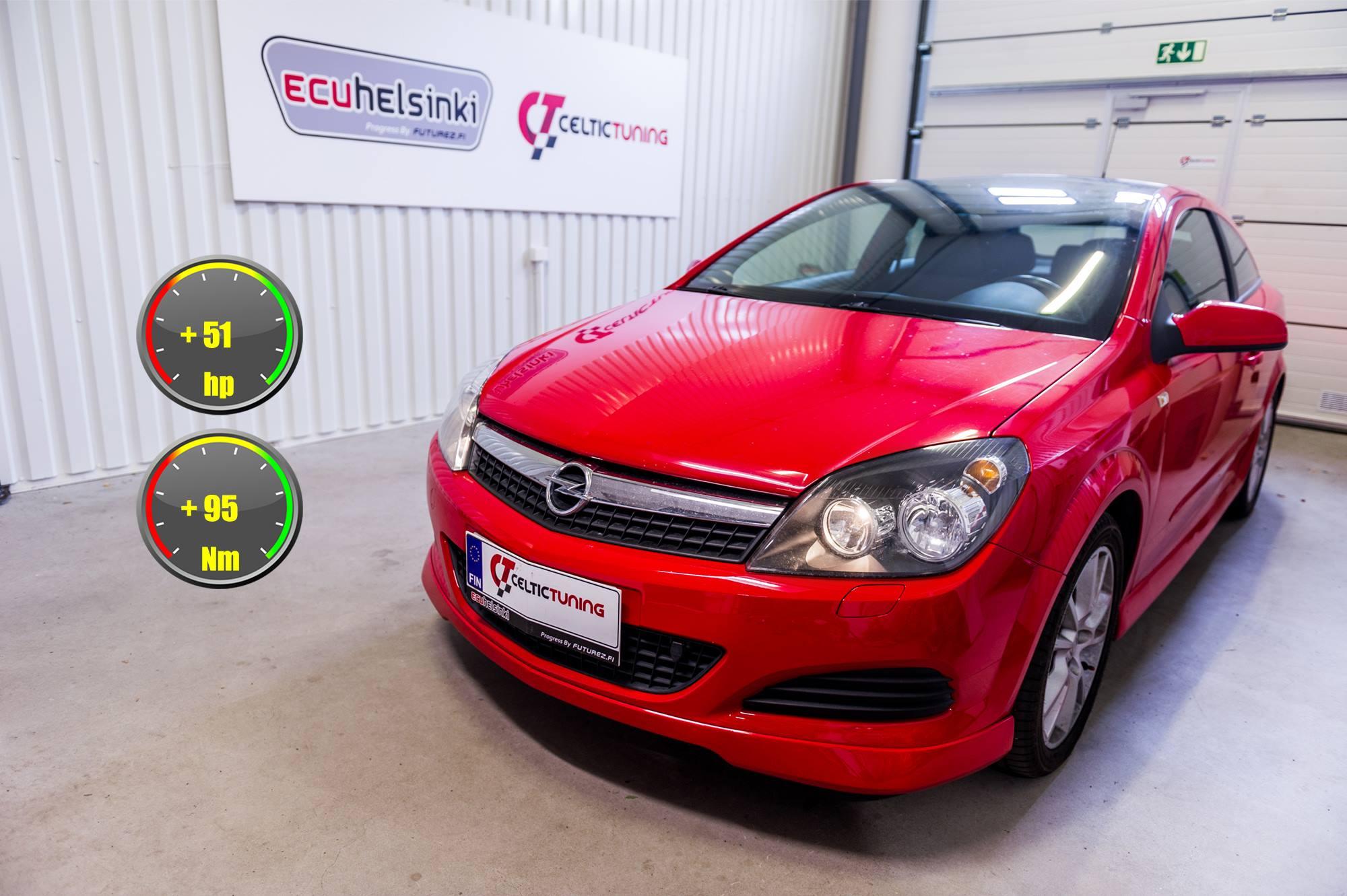 Opel Astra GTC 1.6 turbo lastutus