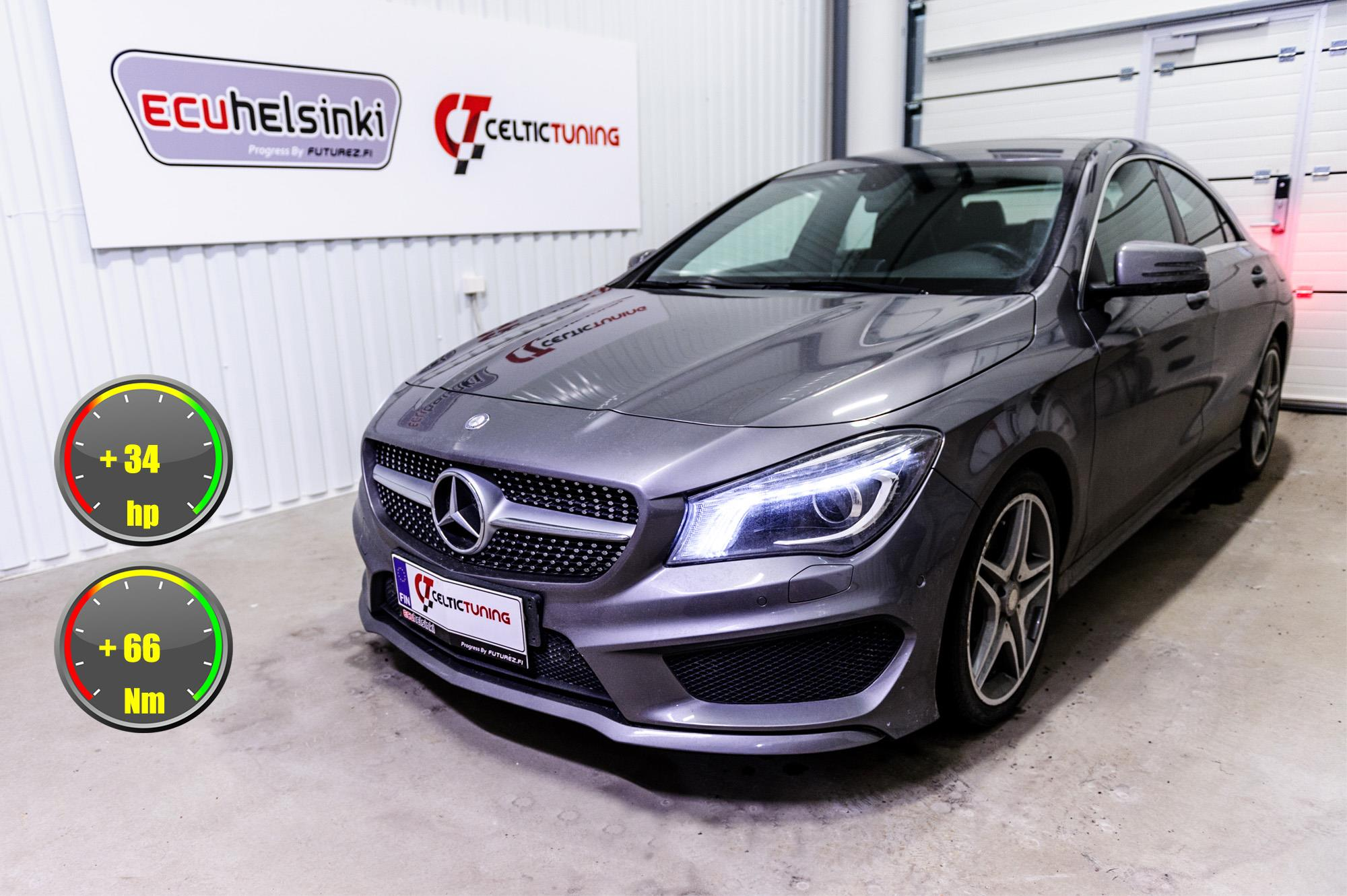 Mercedes CLA 200CDI optimointi