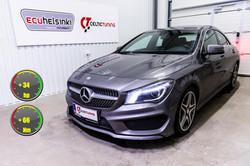 Mercedes CLA 200CDI optimointi