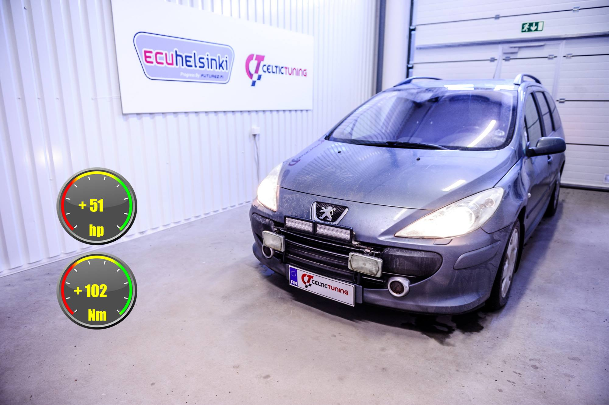 Peugeot hdi optimointi celtic tuning