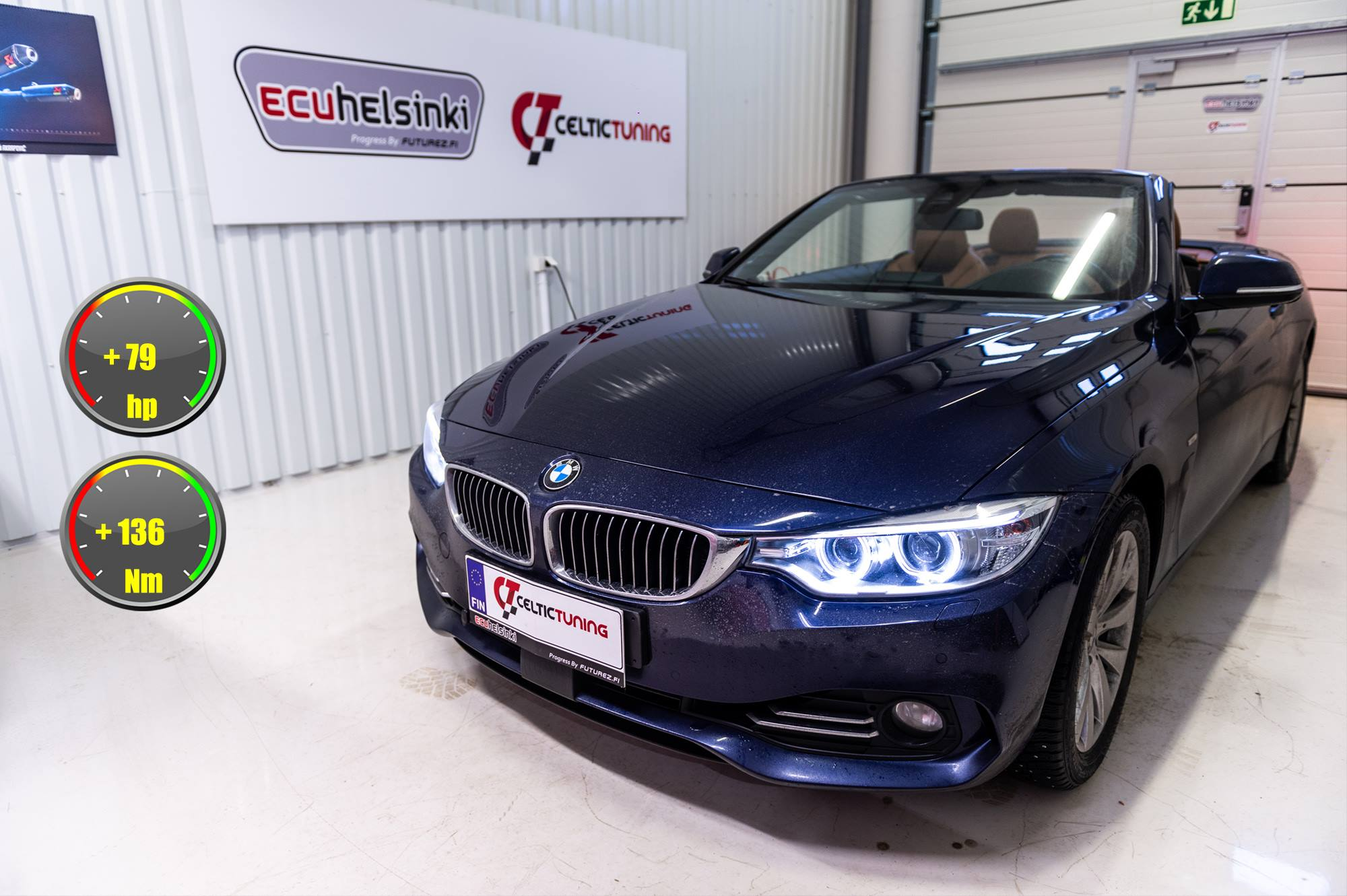 BMW 435i celtic tuning lastutus