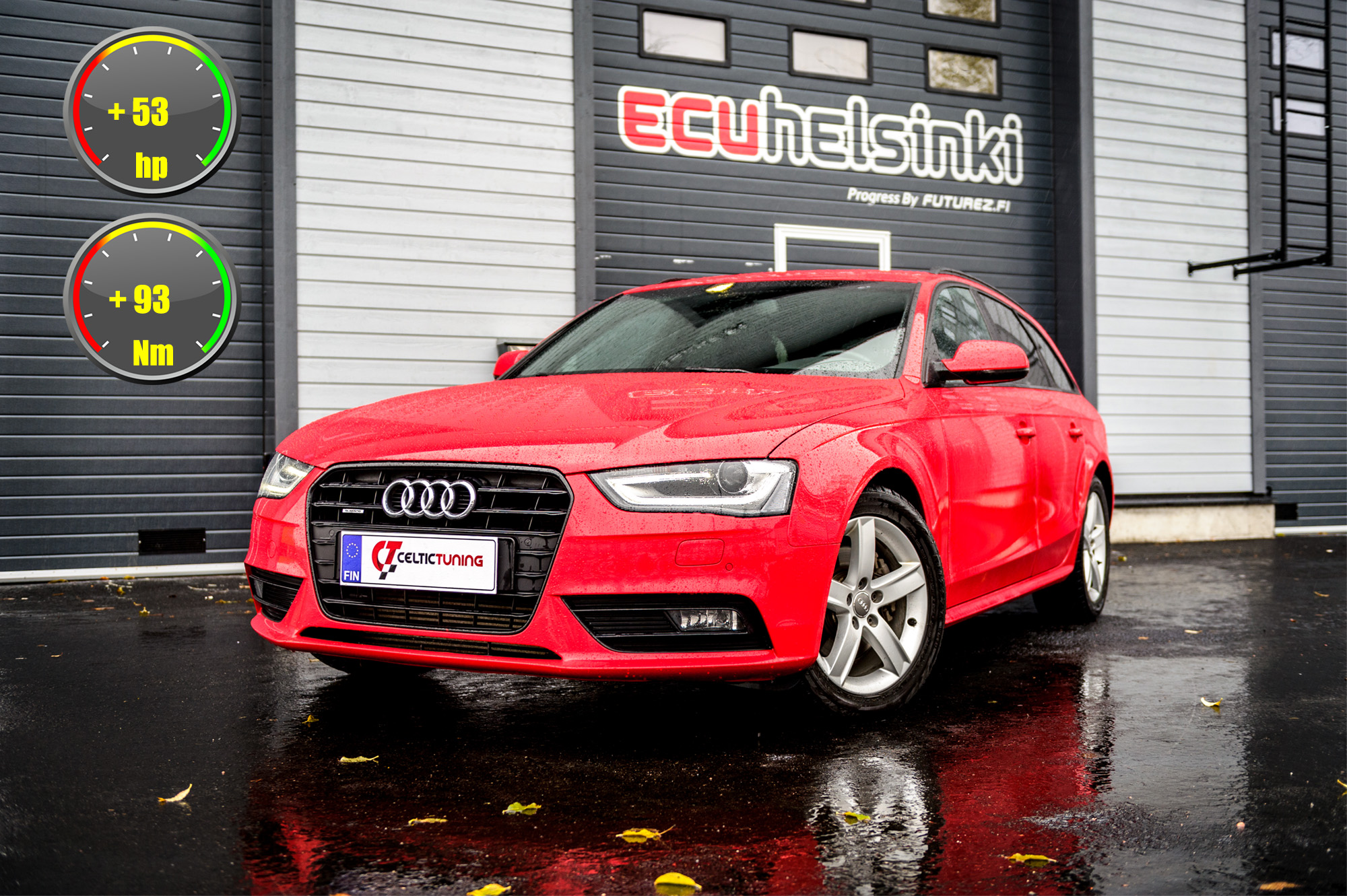 Audi a4 optimointi celtic