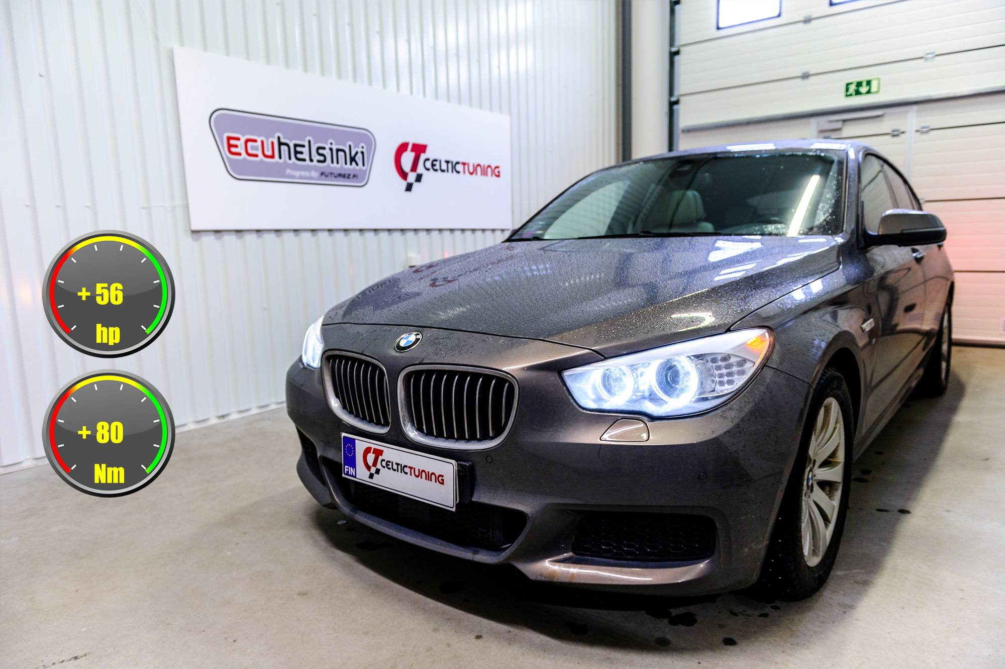 BMW 530XD GT optimointi Celtic tunin