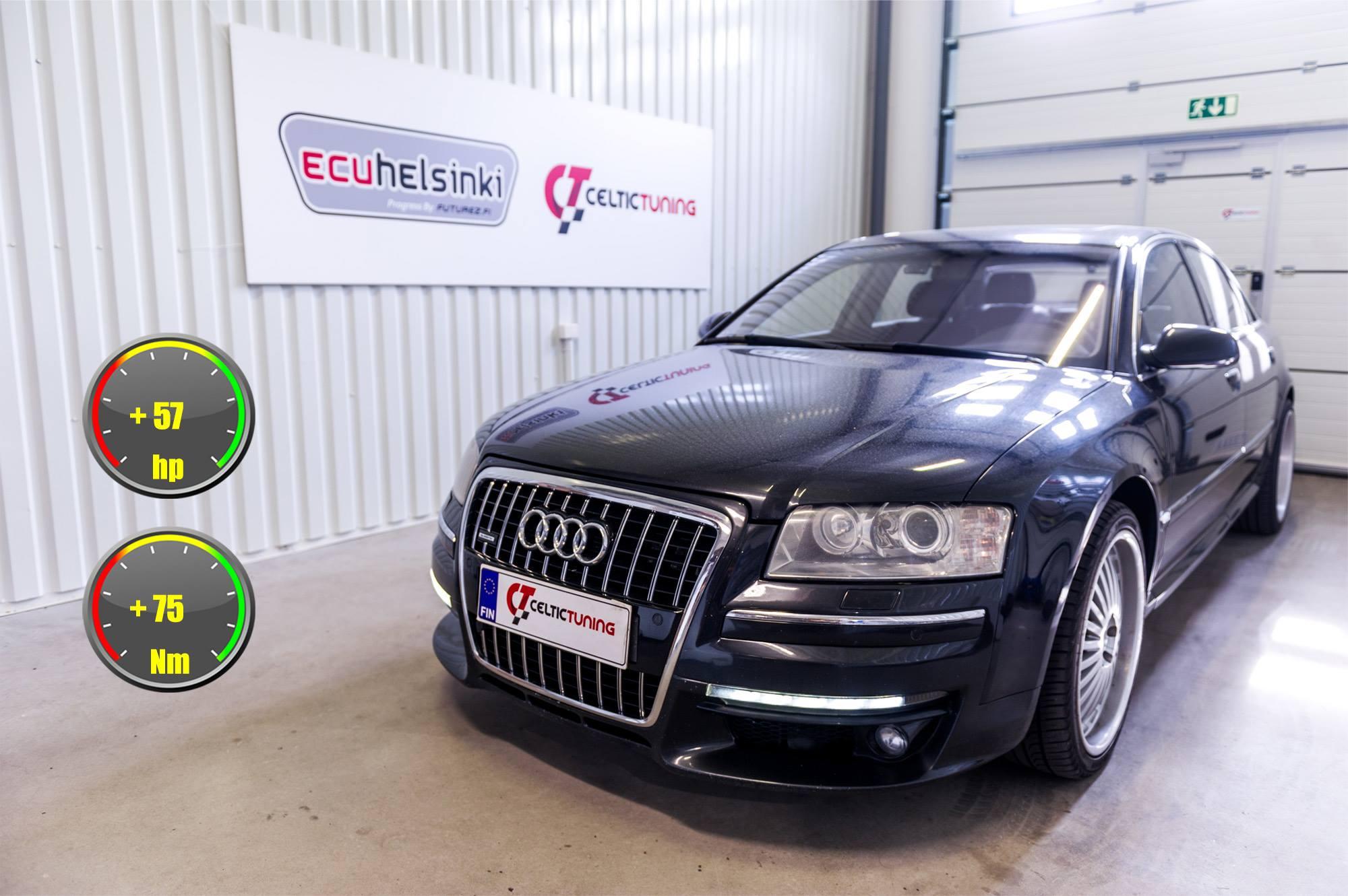 Audi A8 lastutus celtic tuning