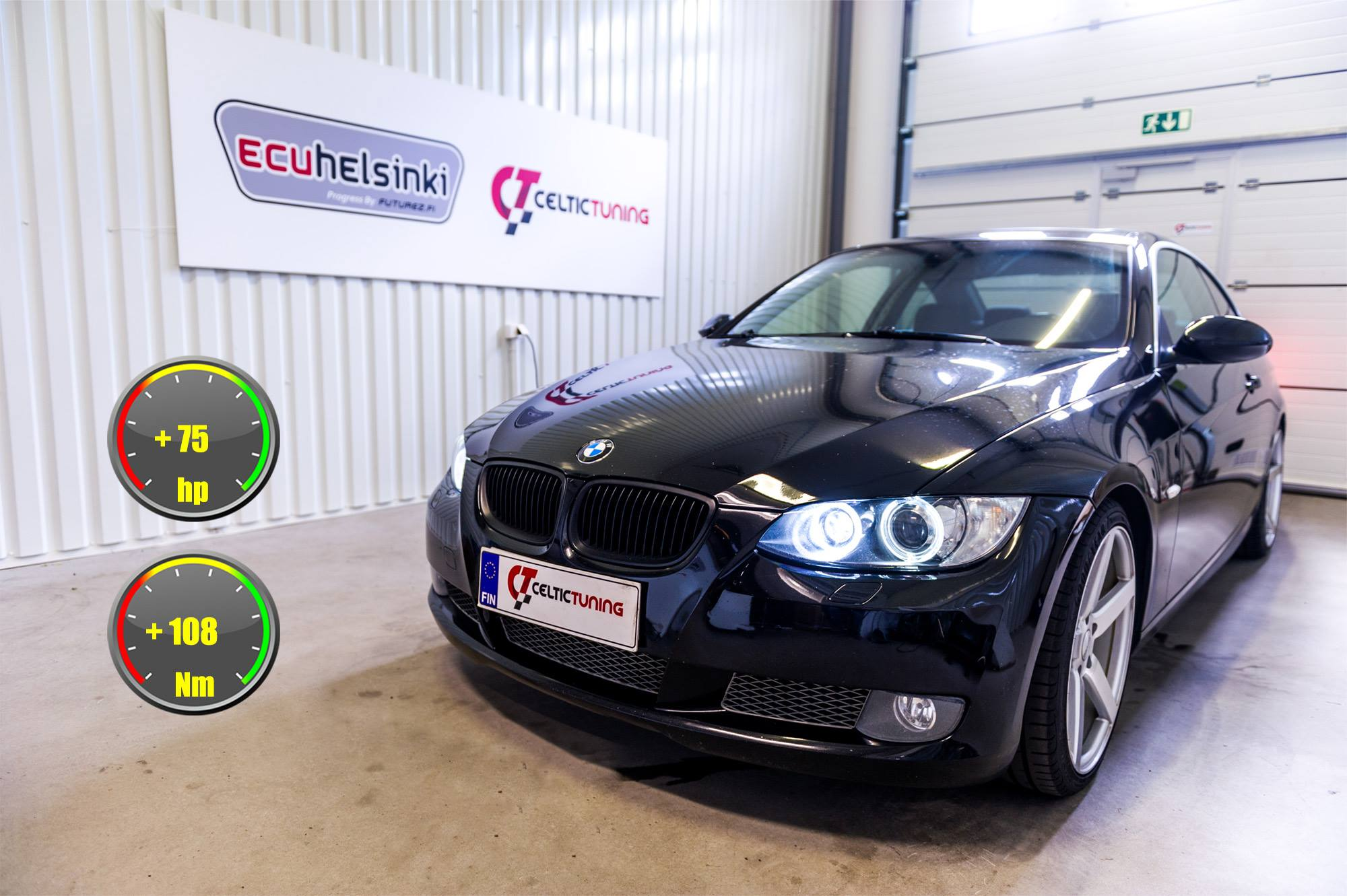 BMW 335i lastutus celtic tuning