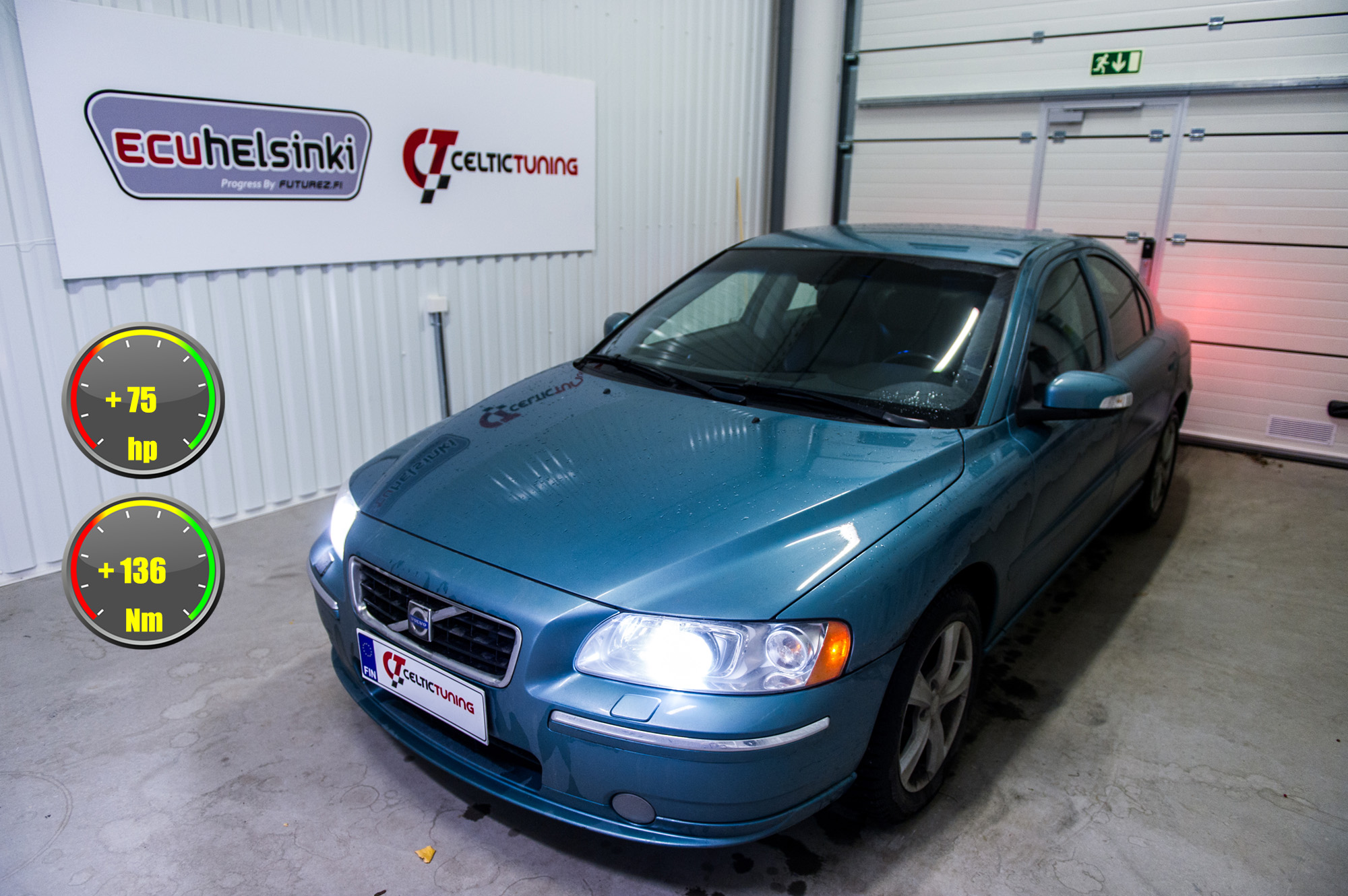 volvo s60 optimointi celtic tuning