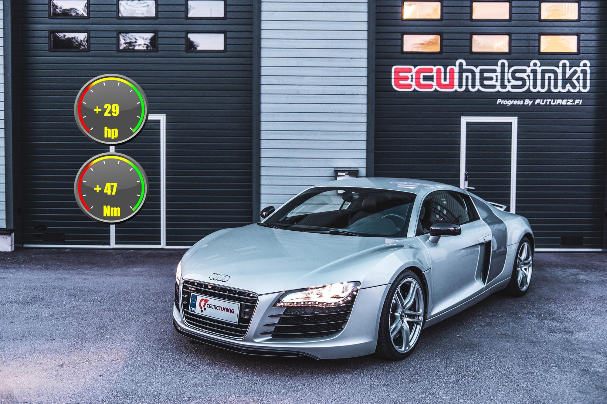 Audi R8 V8 lastu celtic tuning