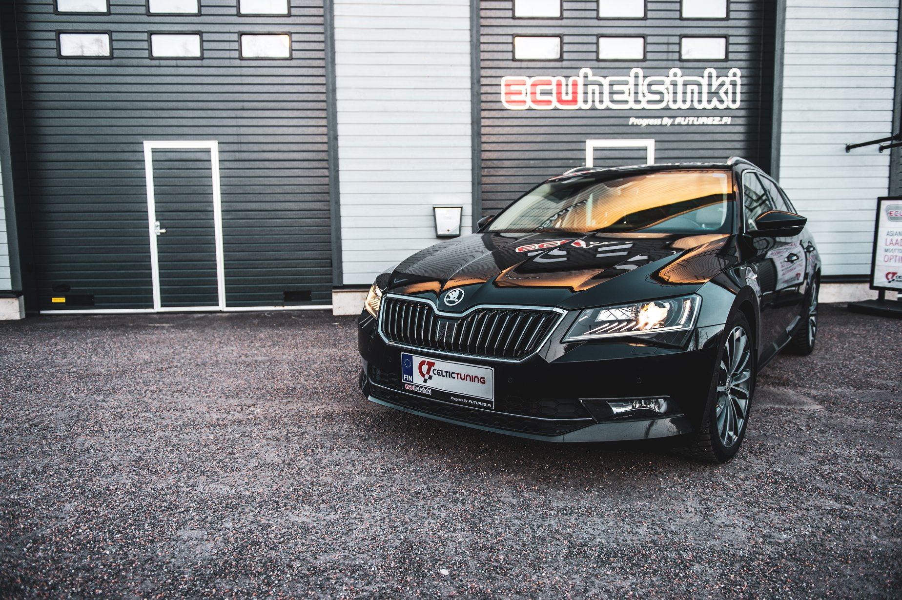 Skoda Superb lastutus celtic tuning