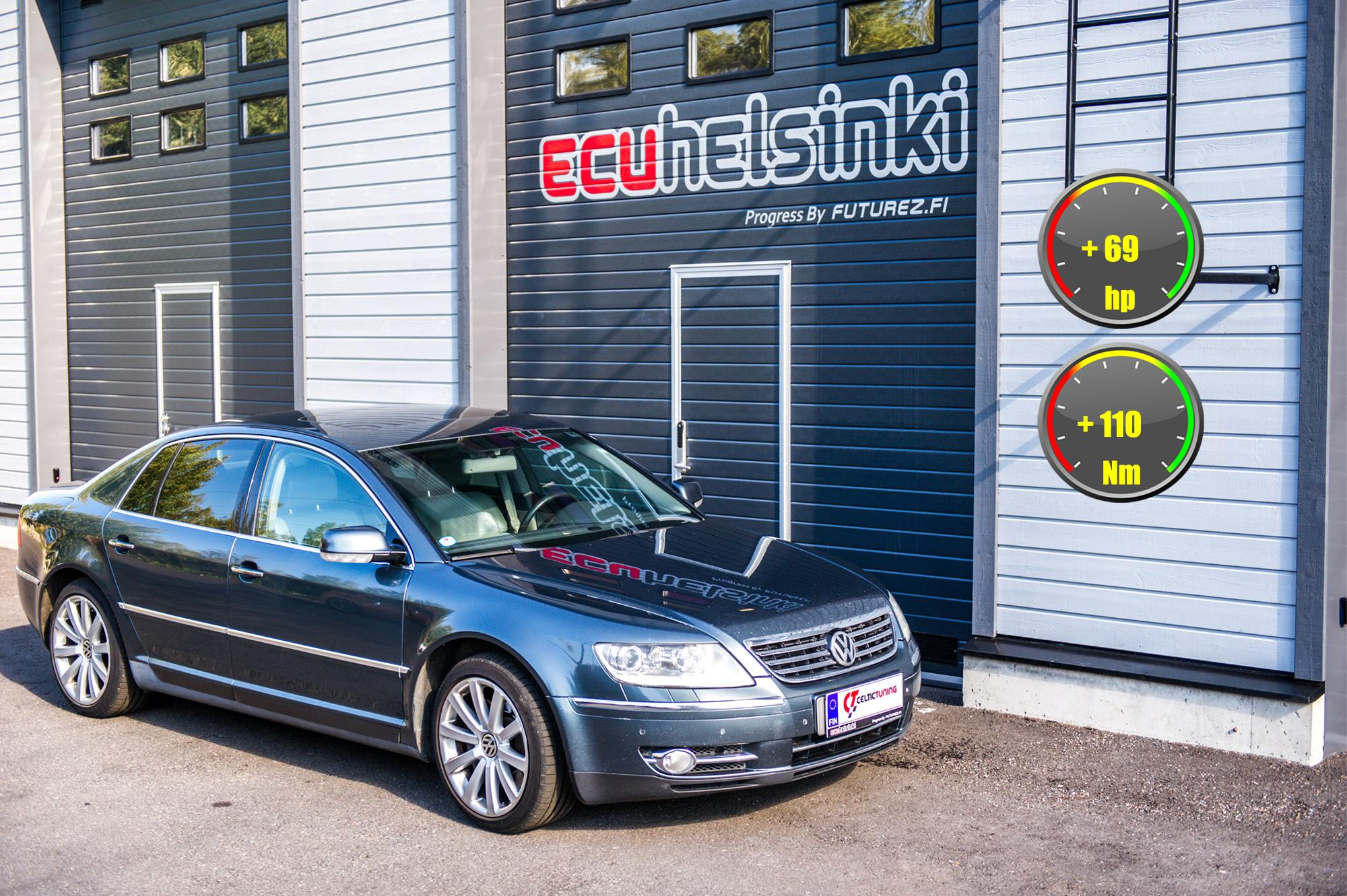 VW Phaeton Celtic Tuning Lastutus
