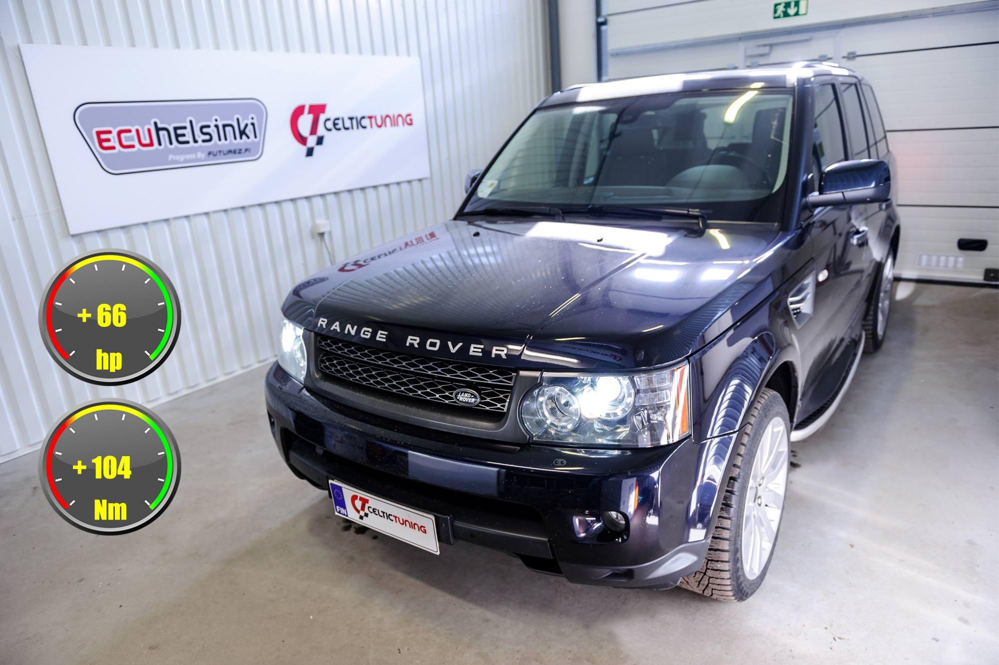 Range Rover sport lastutus celtic tu