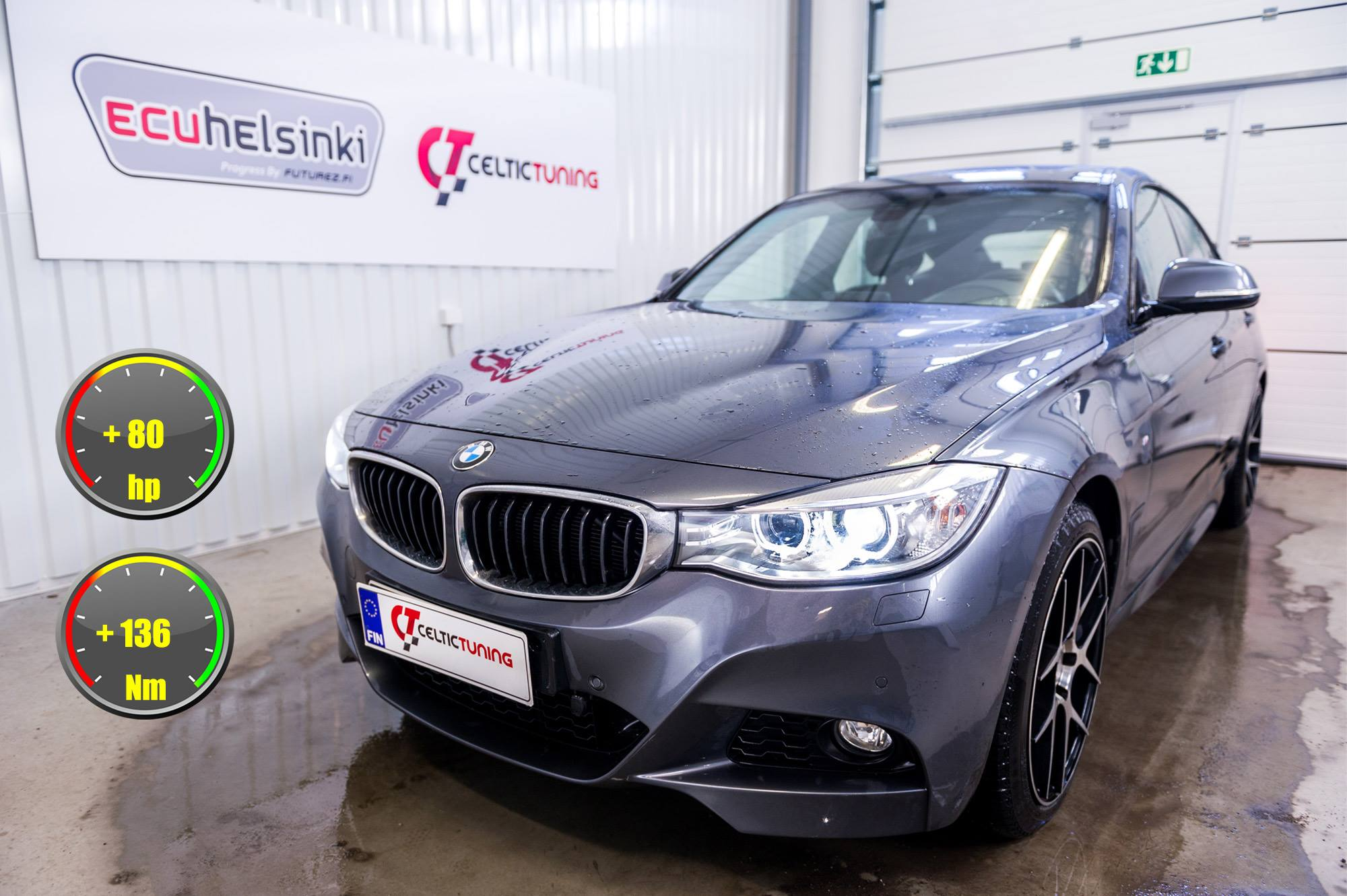 BMW 335i F34 optimointi celtic tunin