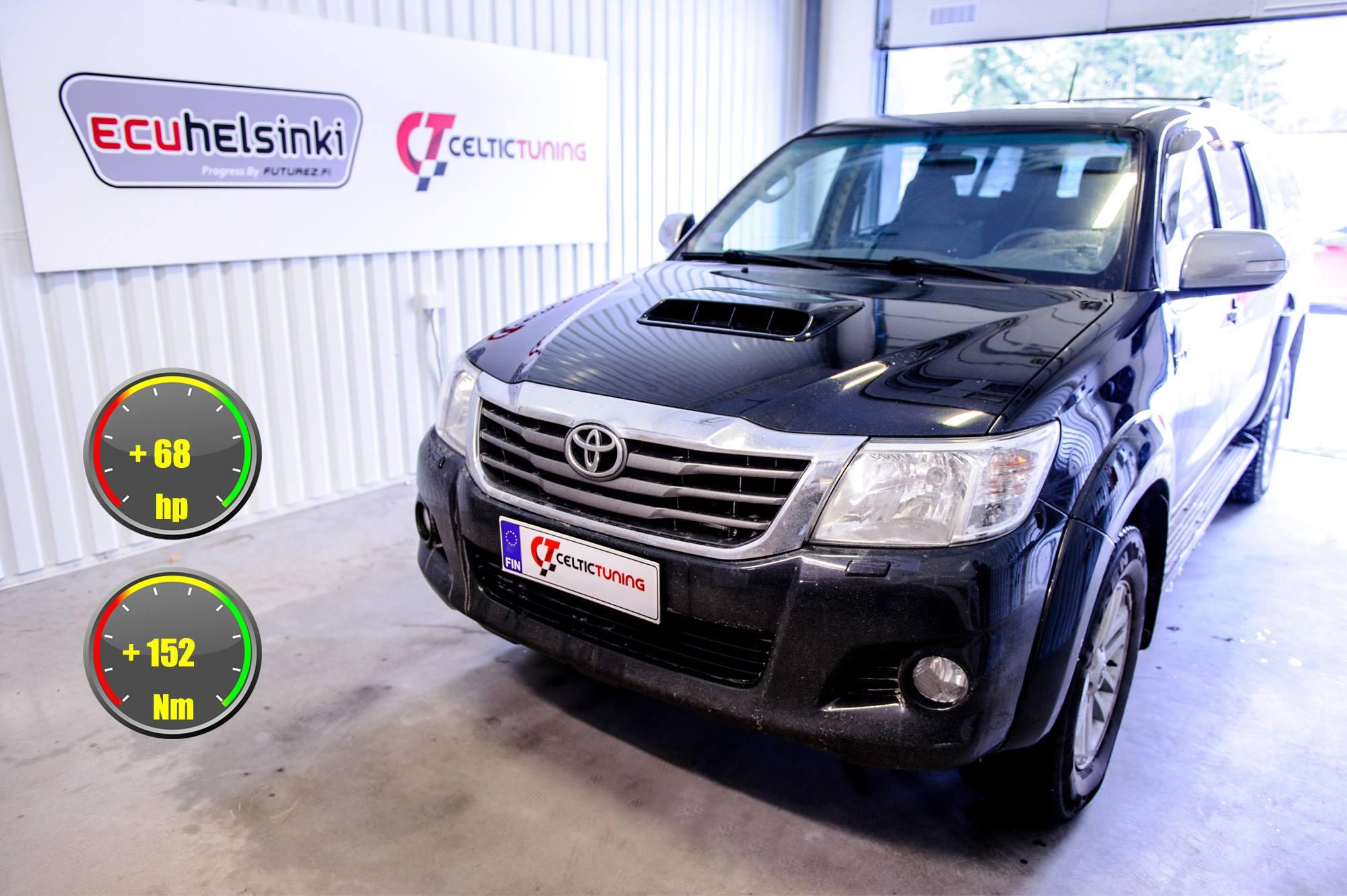 Toyota Hilux 3.0 D4D optimointi celt