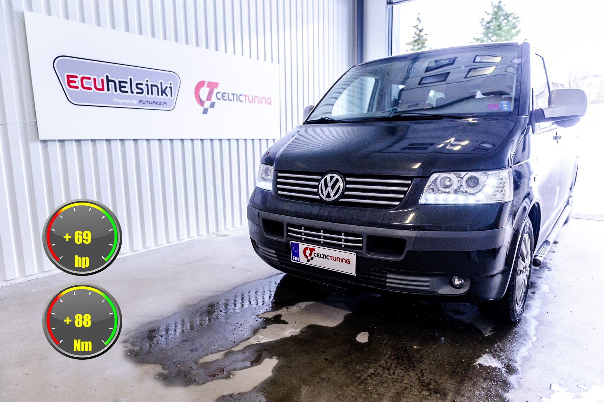 VW Transporter T5 optimointi celtic