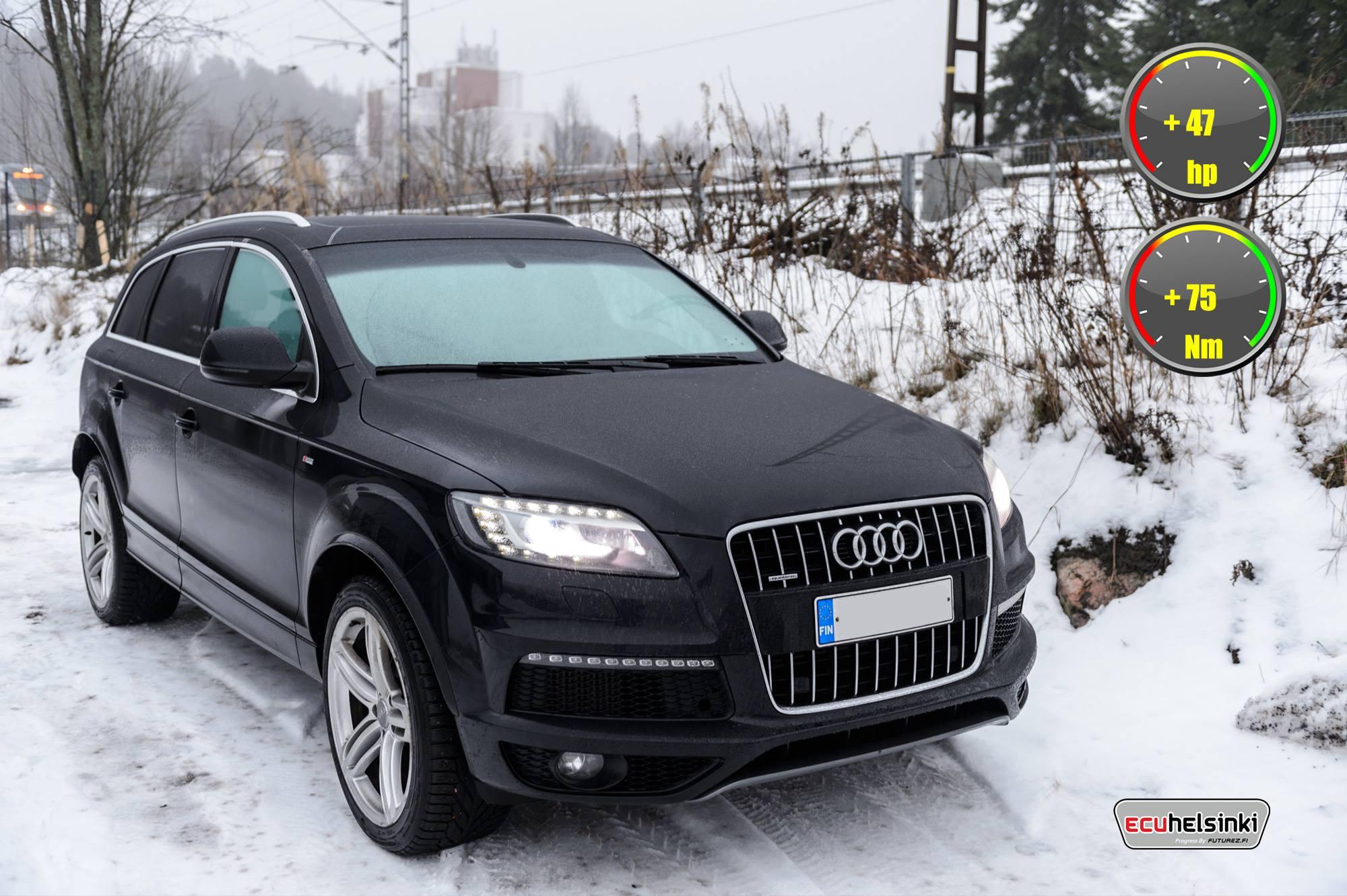 Audi Q7 3.0tdi viritys celtic tuning