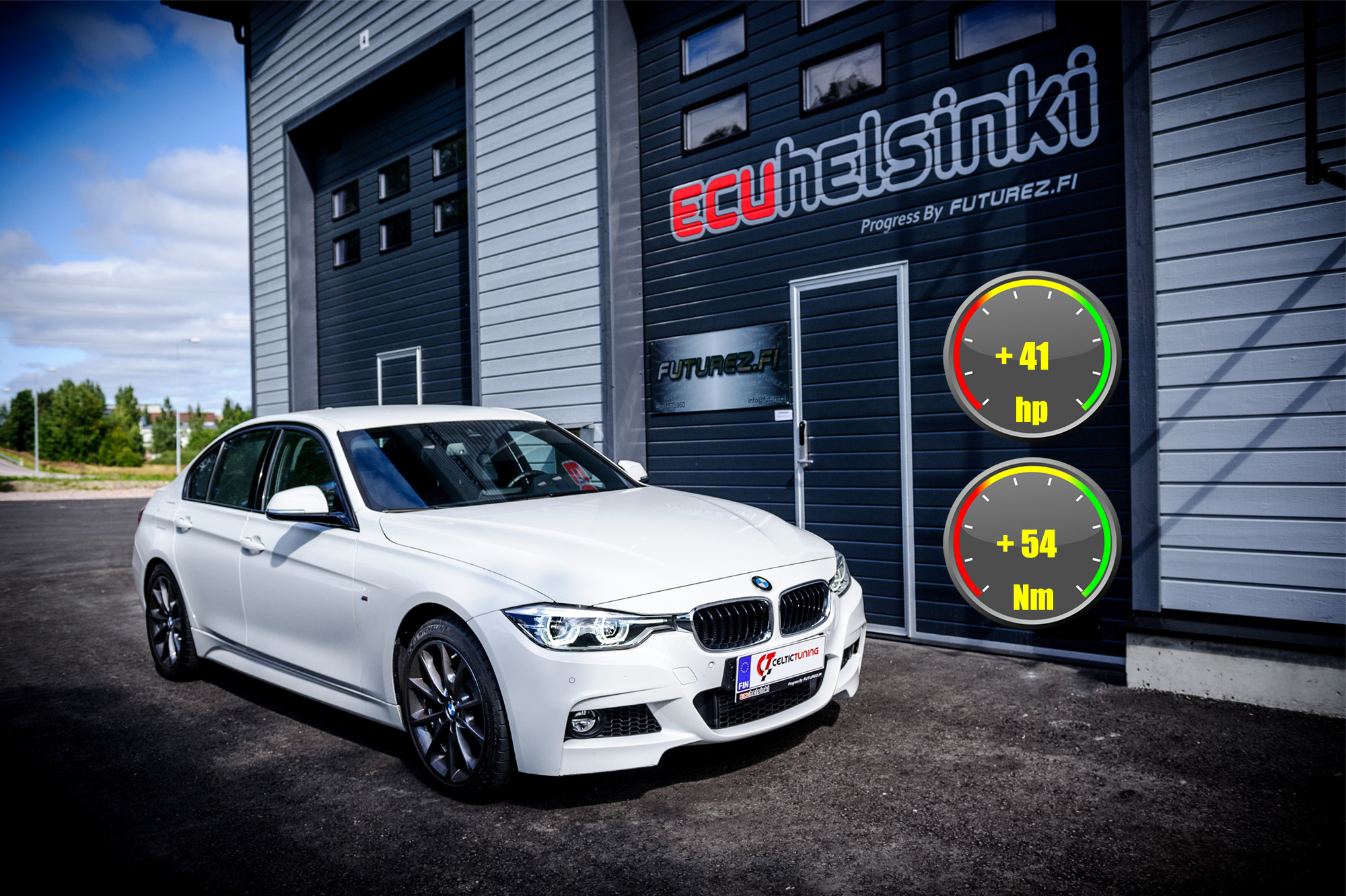 BMW 318i optimointi celtic tuning