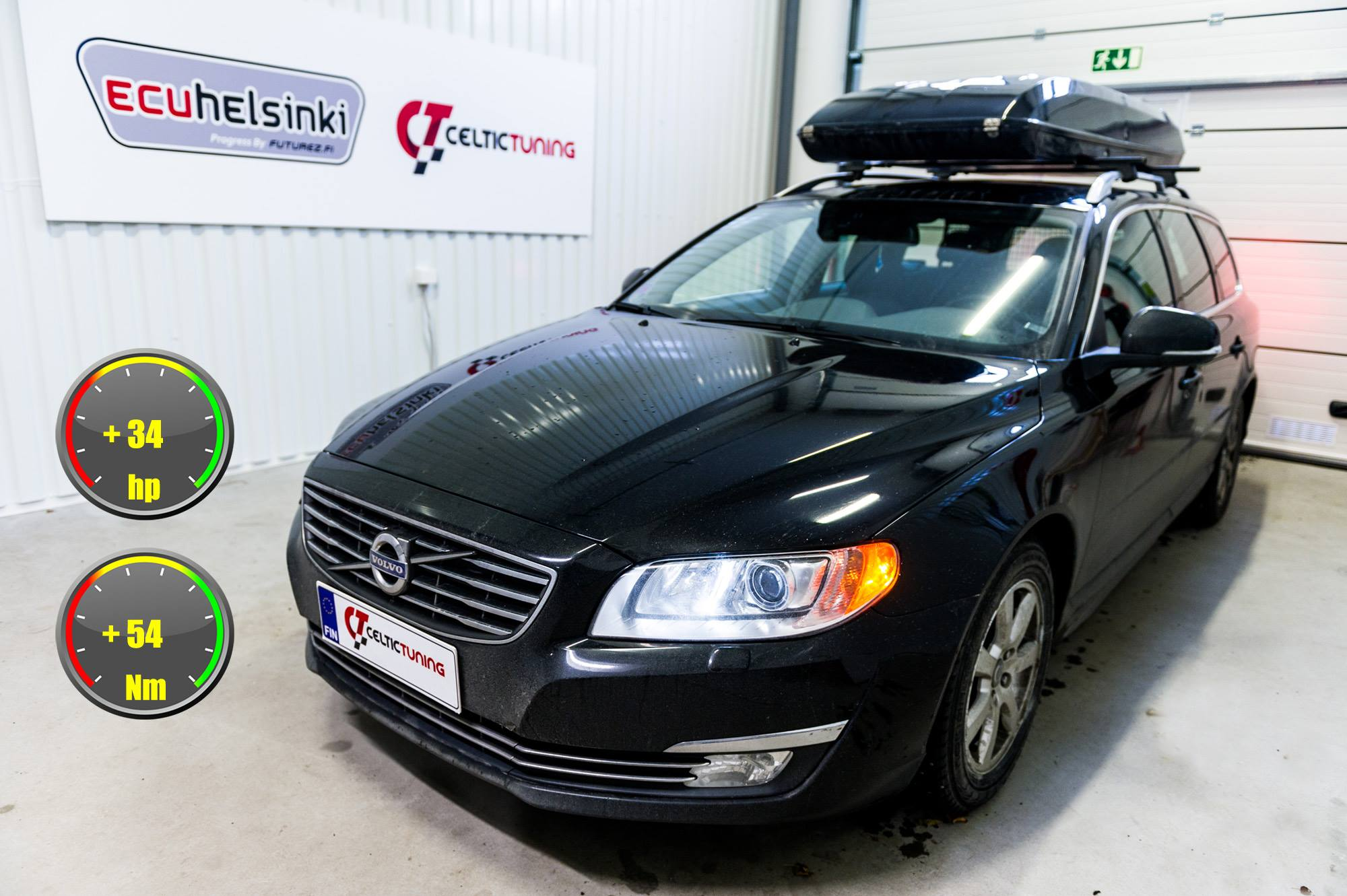 Volvo V70 D2 optimointi celtic tunin