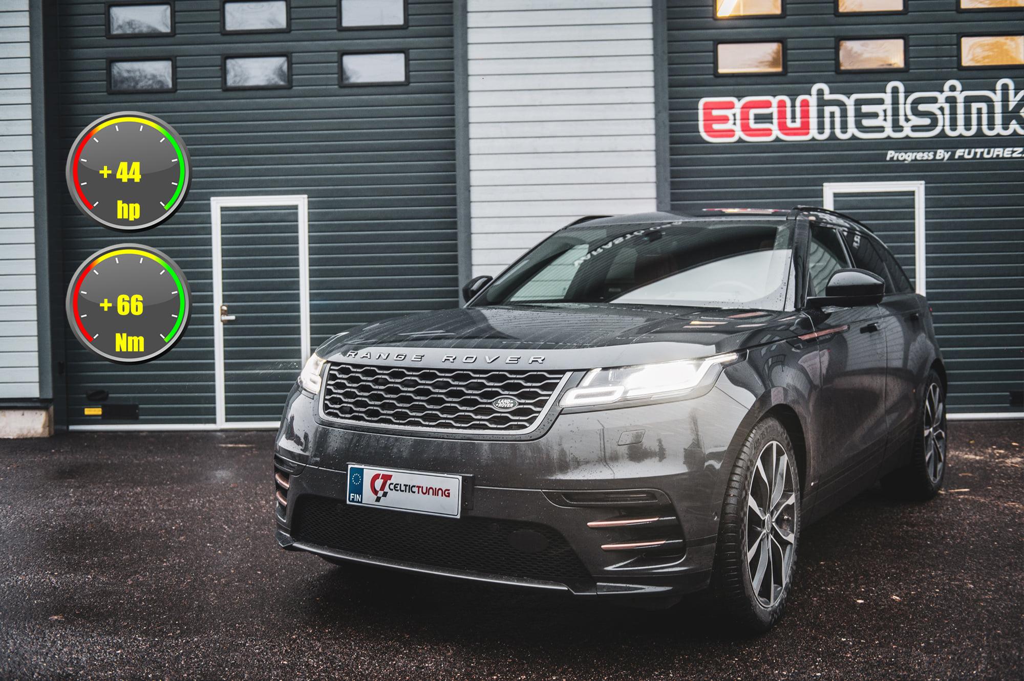 Land Rover celtictuning ohjelmointi