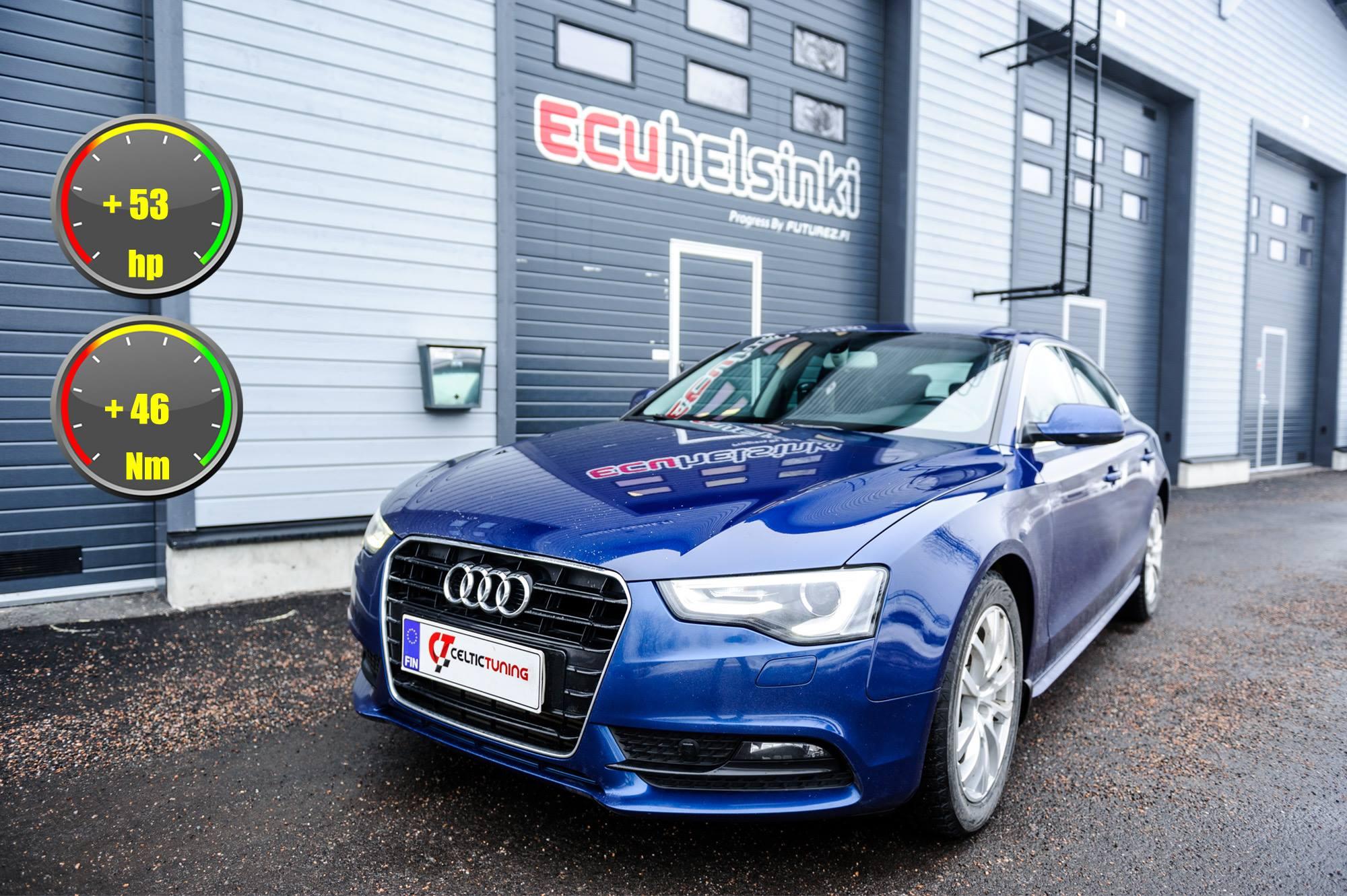 Audi A5 auton optimoint celtictuning