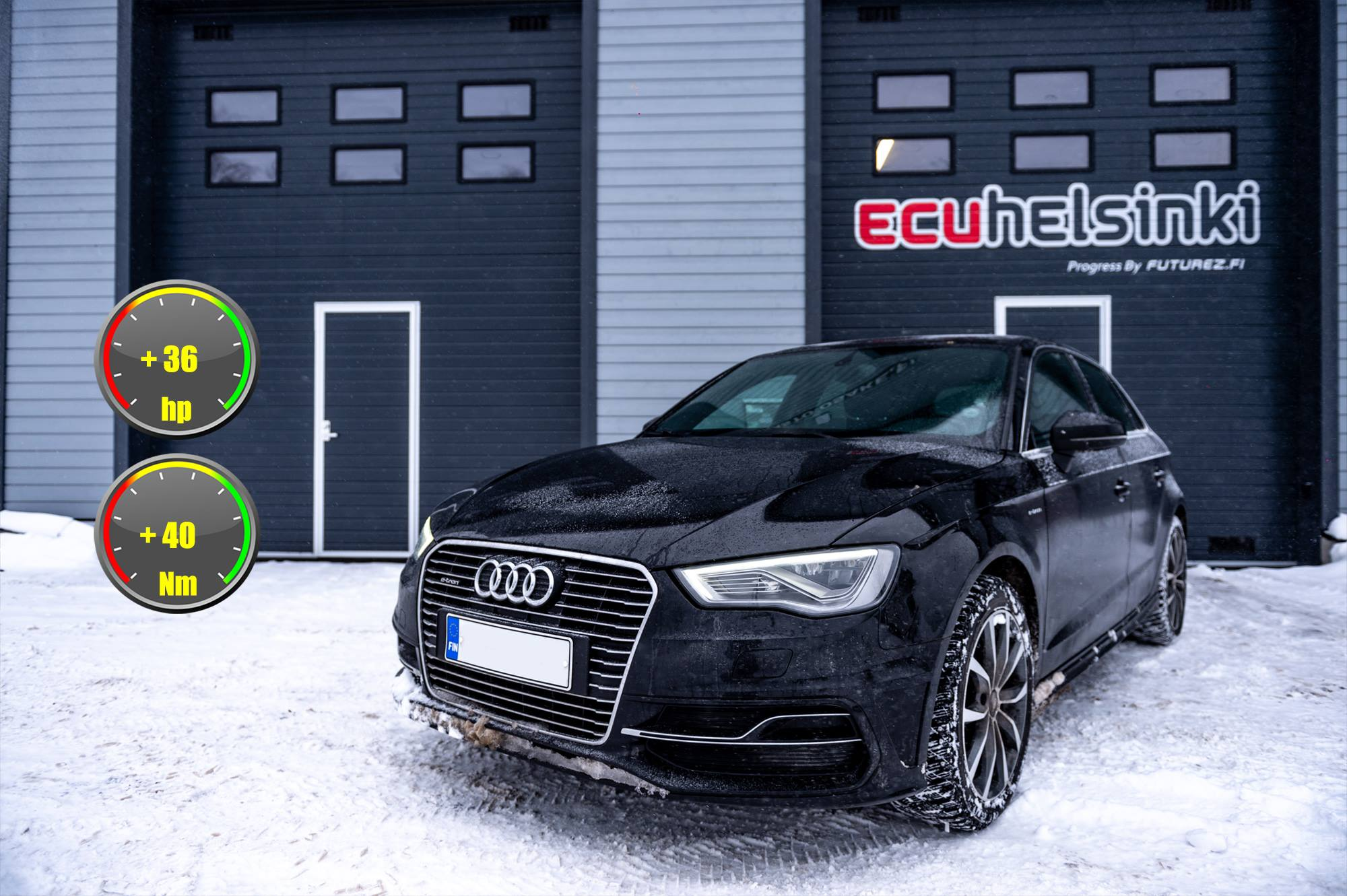 Audi e-tron lastutus celtic tuning