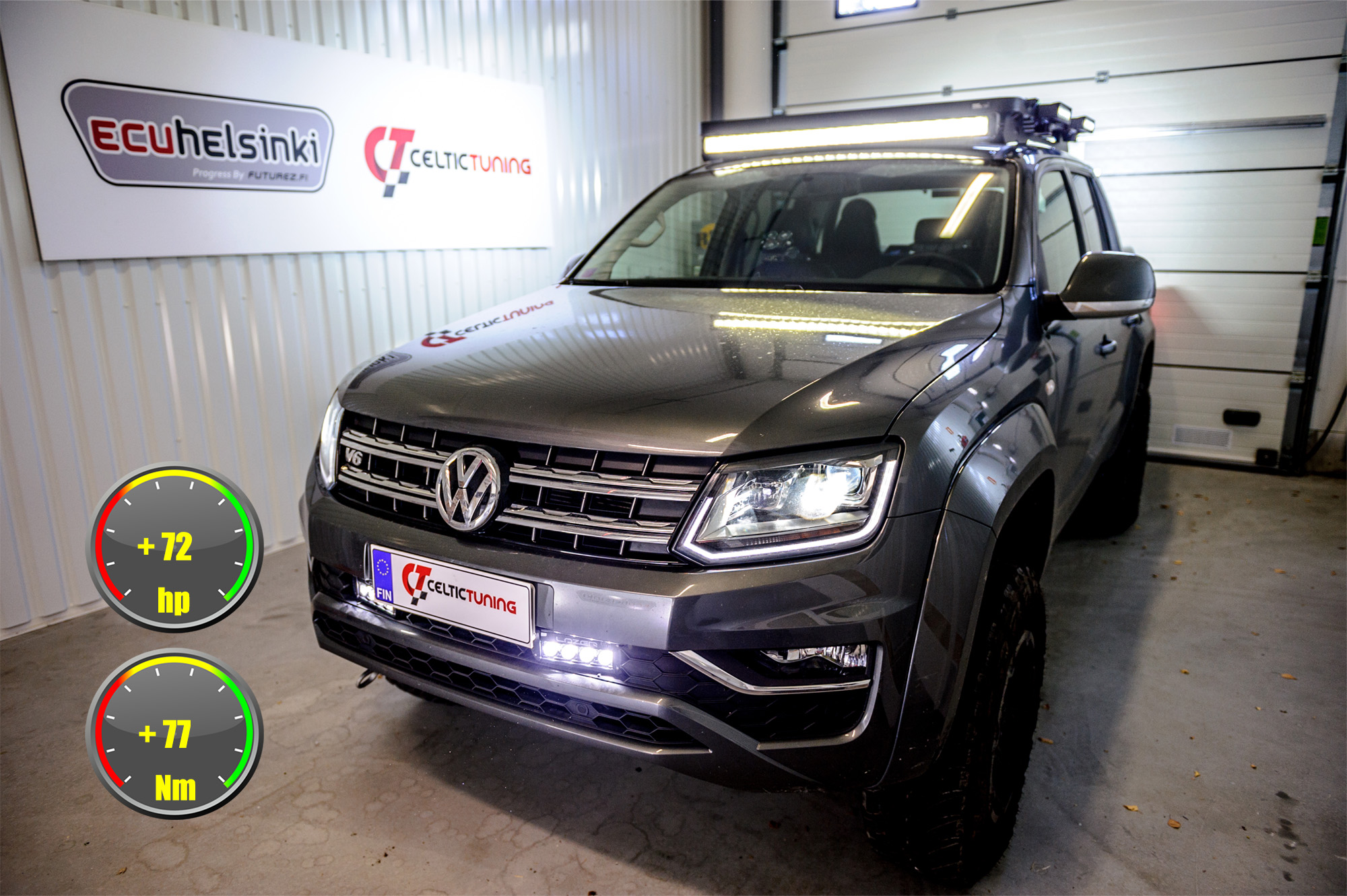 VW amarok optimointi celtic tuning