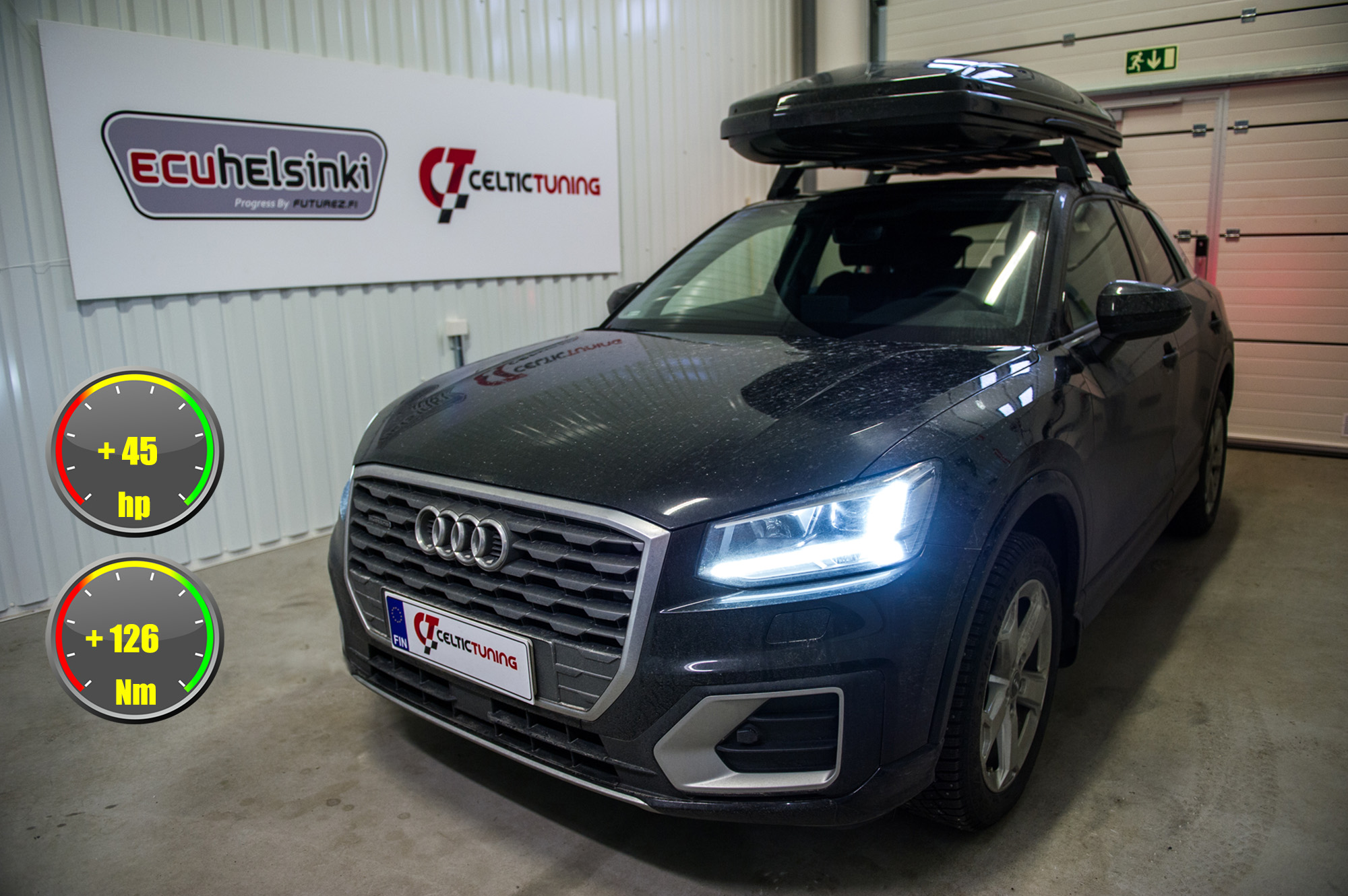 Audi q2 2.0 TDI optimointi celtic