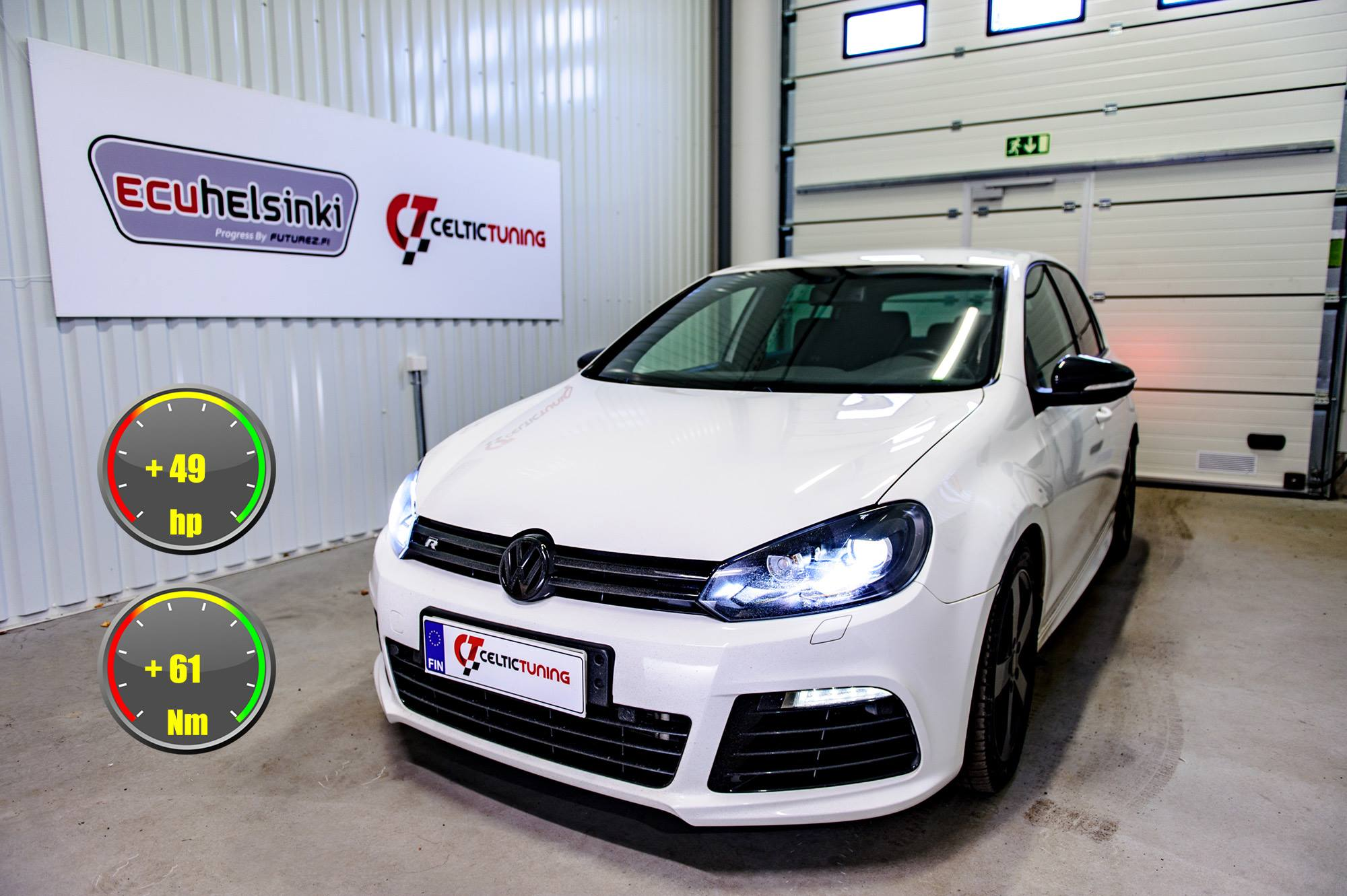 VW Golf R optimointi celtic