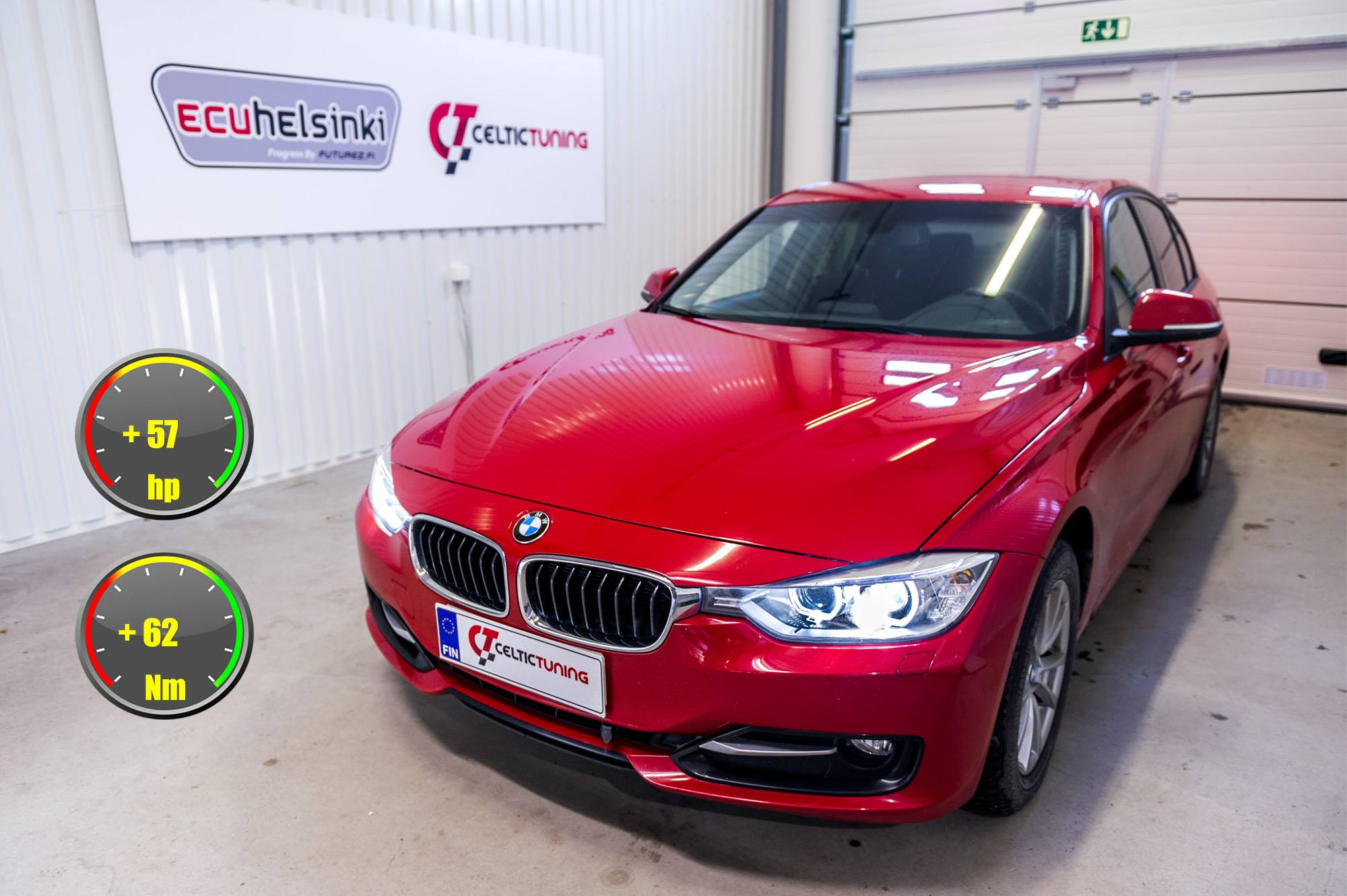 BMW 320D optimointi celtic tuning