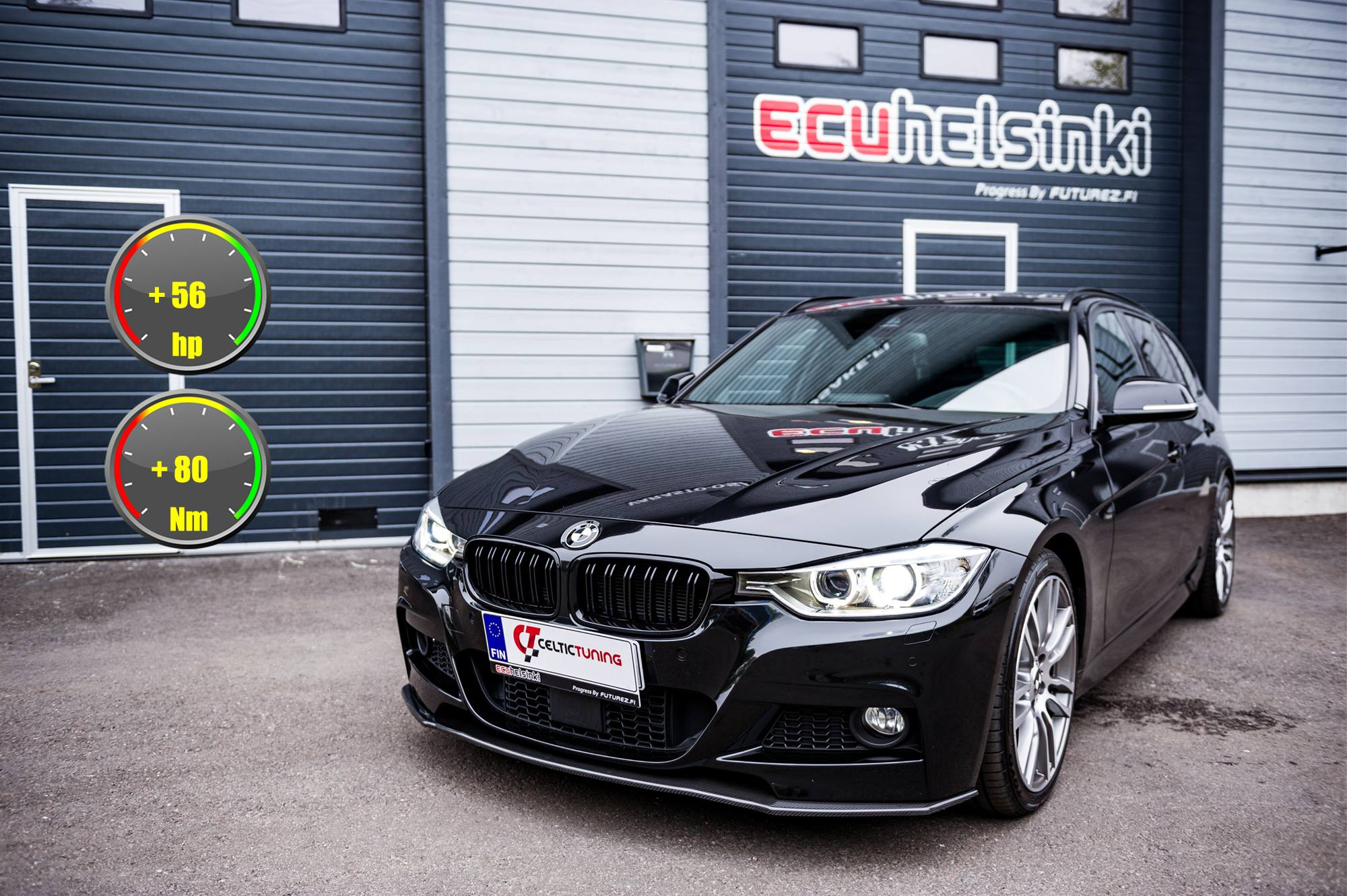 BMW 330D Celtic Tuning Lastutus
