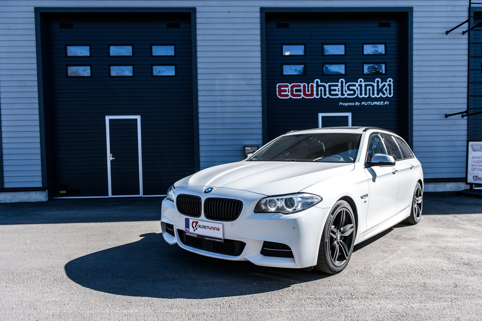 BMW M550D celtic tuning lastutus