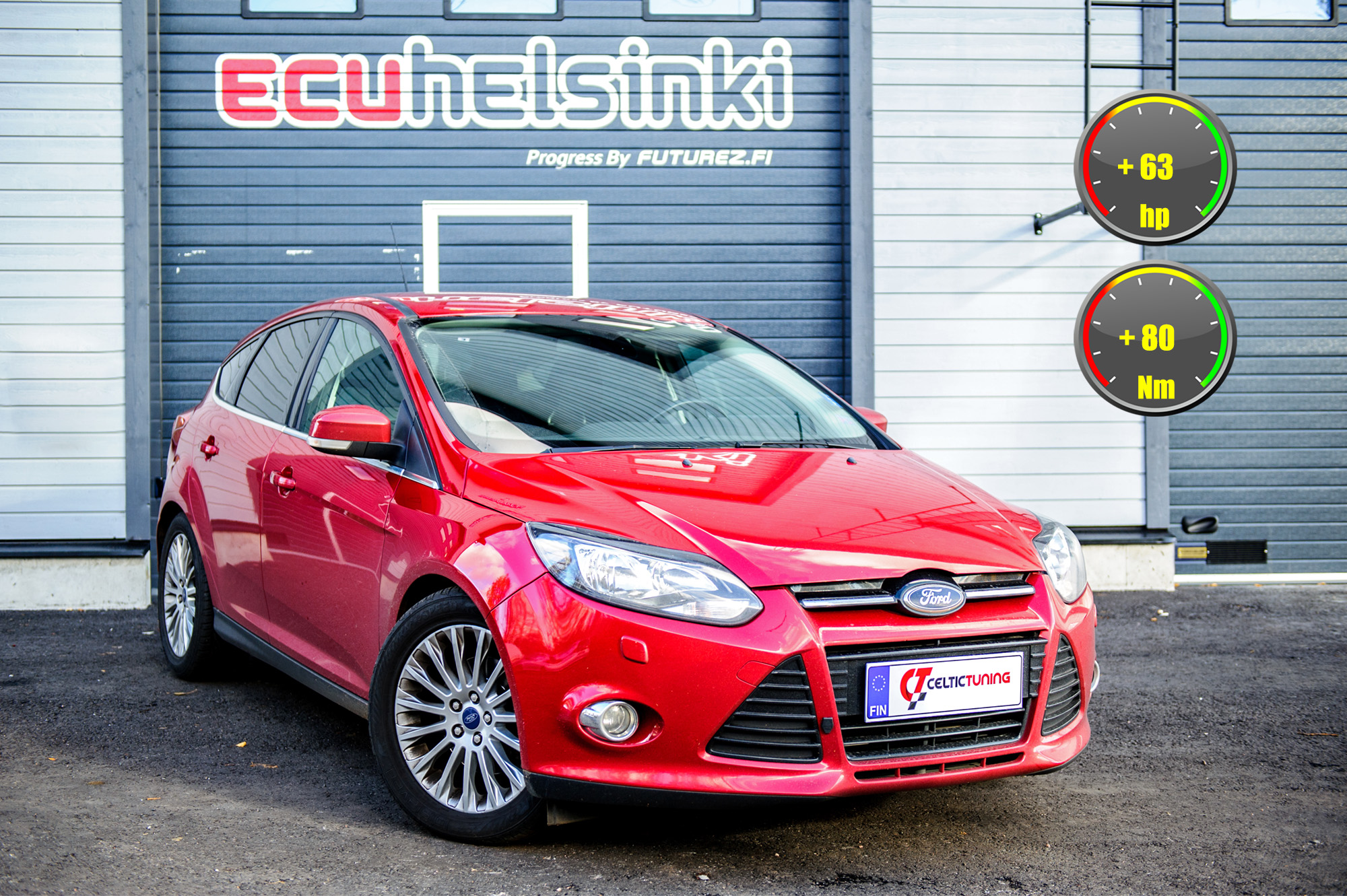 Ford Focus optimointi celtic tuning