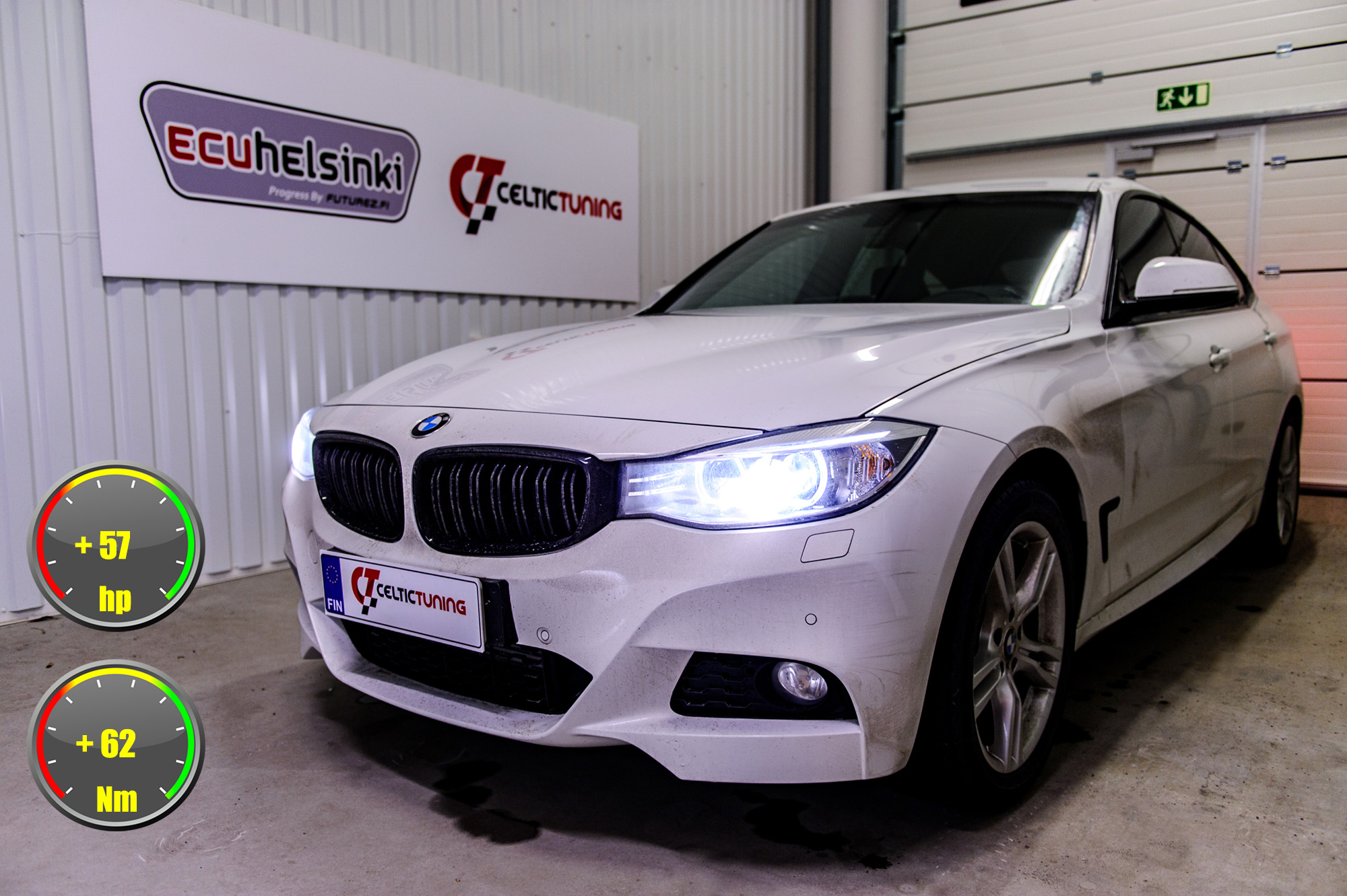 bmw 320D gt optimointi celtic tuning
