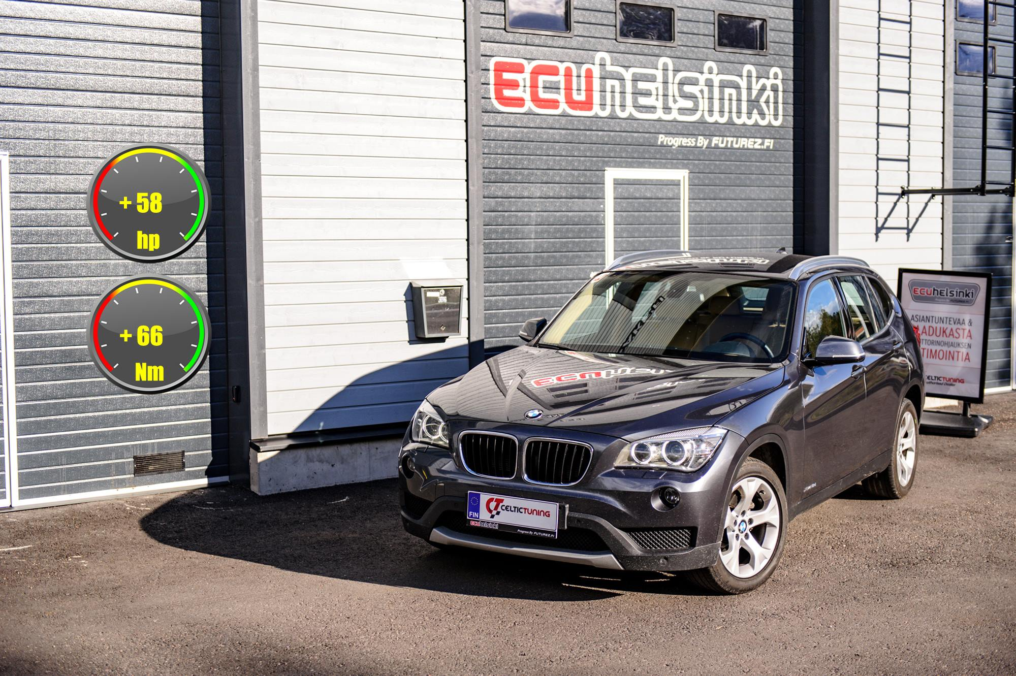 BMW X1 Celtic Tuning Lastutus