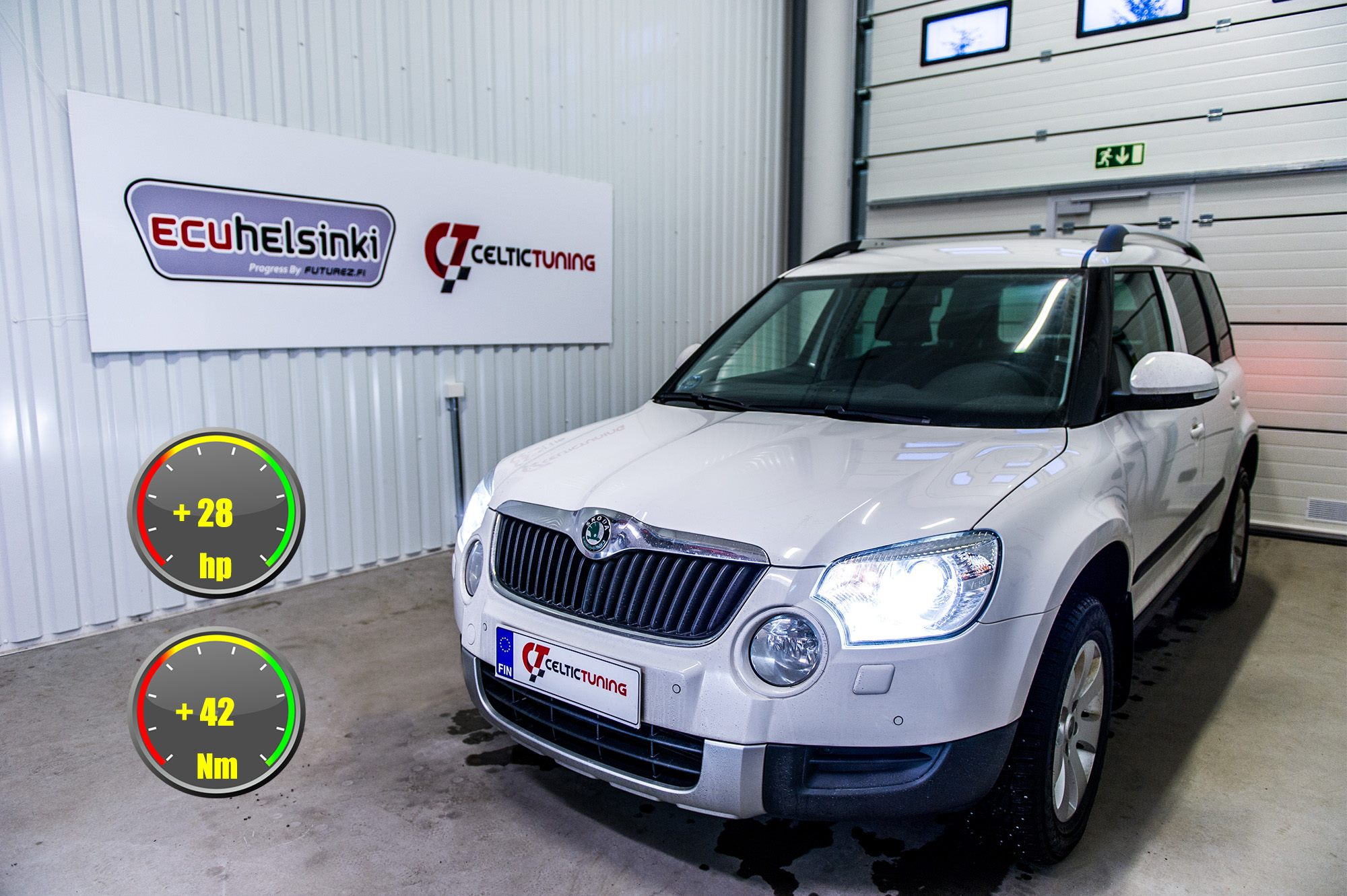 Skoda Yeti optimointi celtic tuning