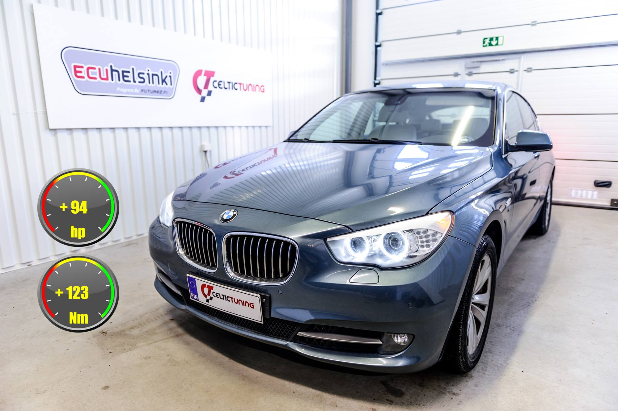 BMW 530D GT optimointi celtic tuning
