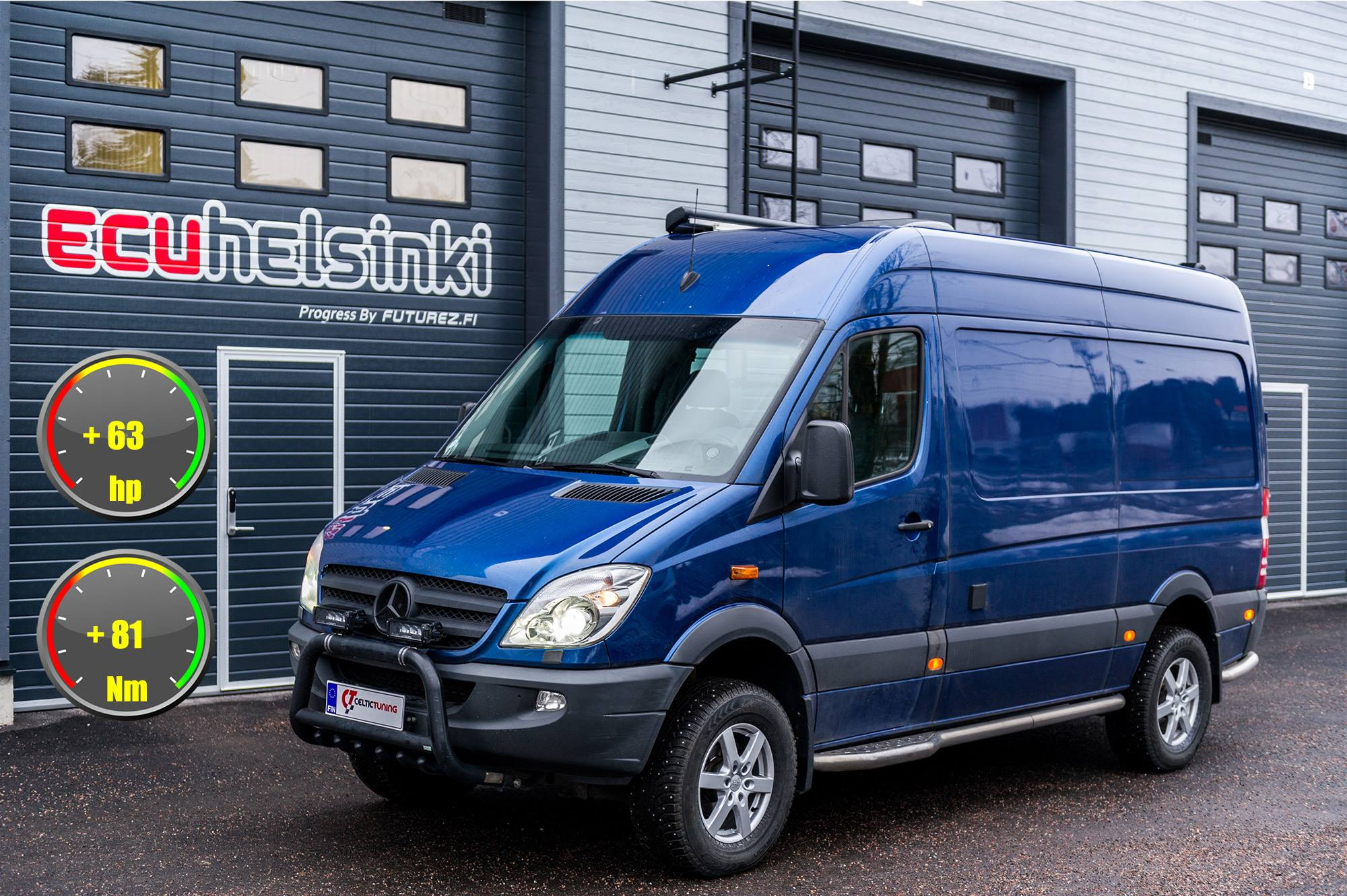 Mercedes sprinter 319 cdi optimointi