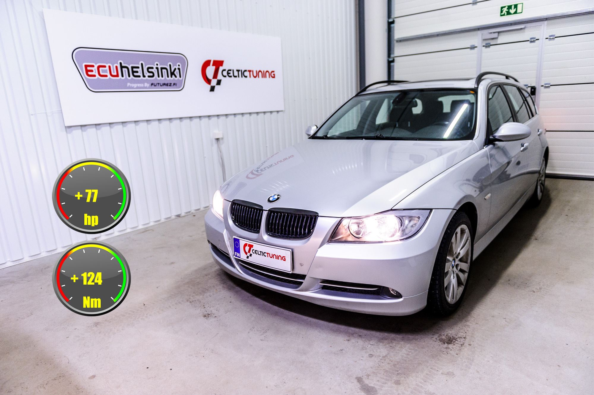 BMW 335D lastutus celtic tuning